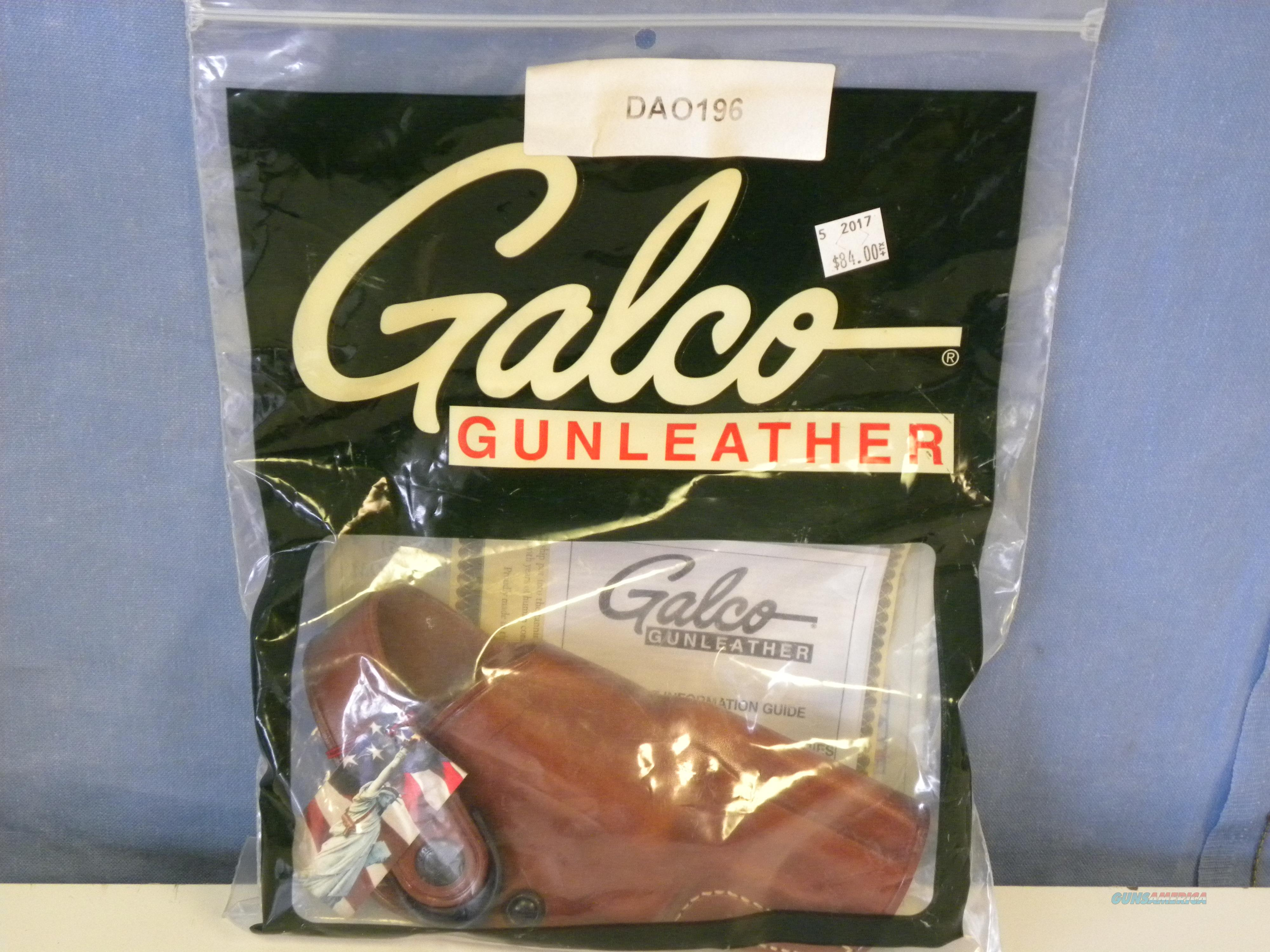 "Galco DAO Tarus Judge 3"" Holster (DAO196)  Non-Guns > Holsters and Gunleather > Revolver"