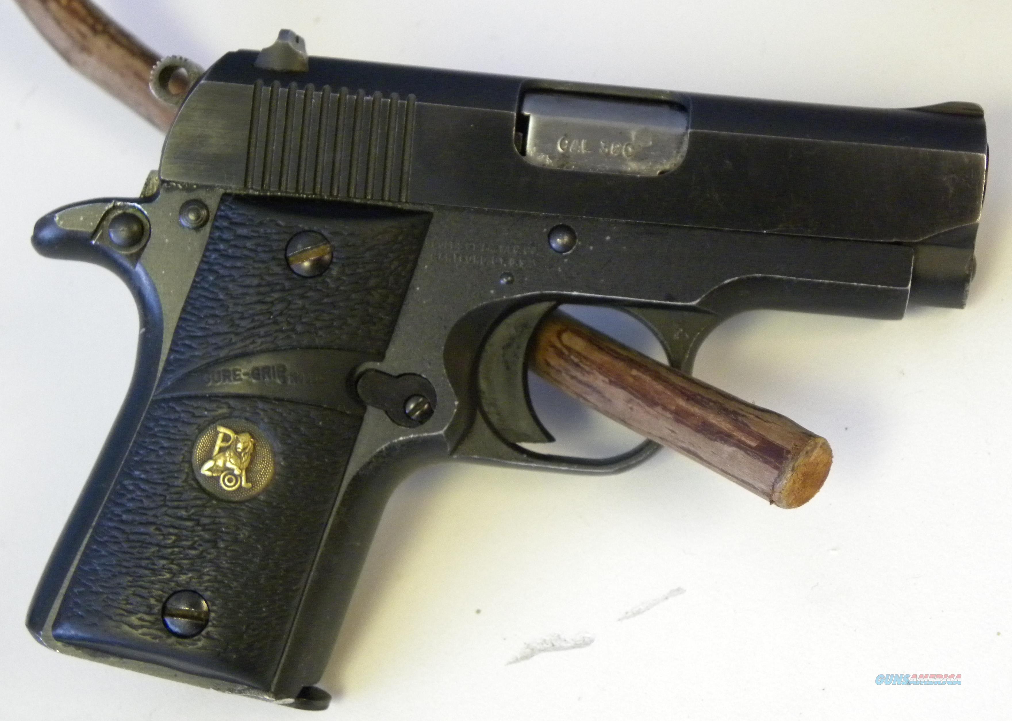 Colt Classic Mustang Pocketlite  Guns > Pistols > Colt Automatic Pistols (.25, .32, & .380 cal)