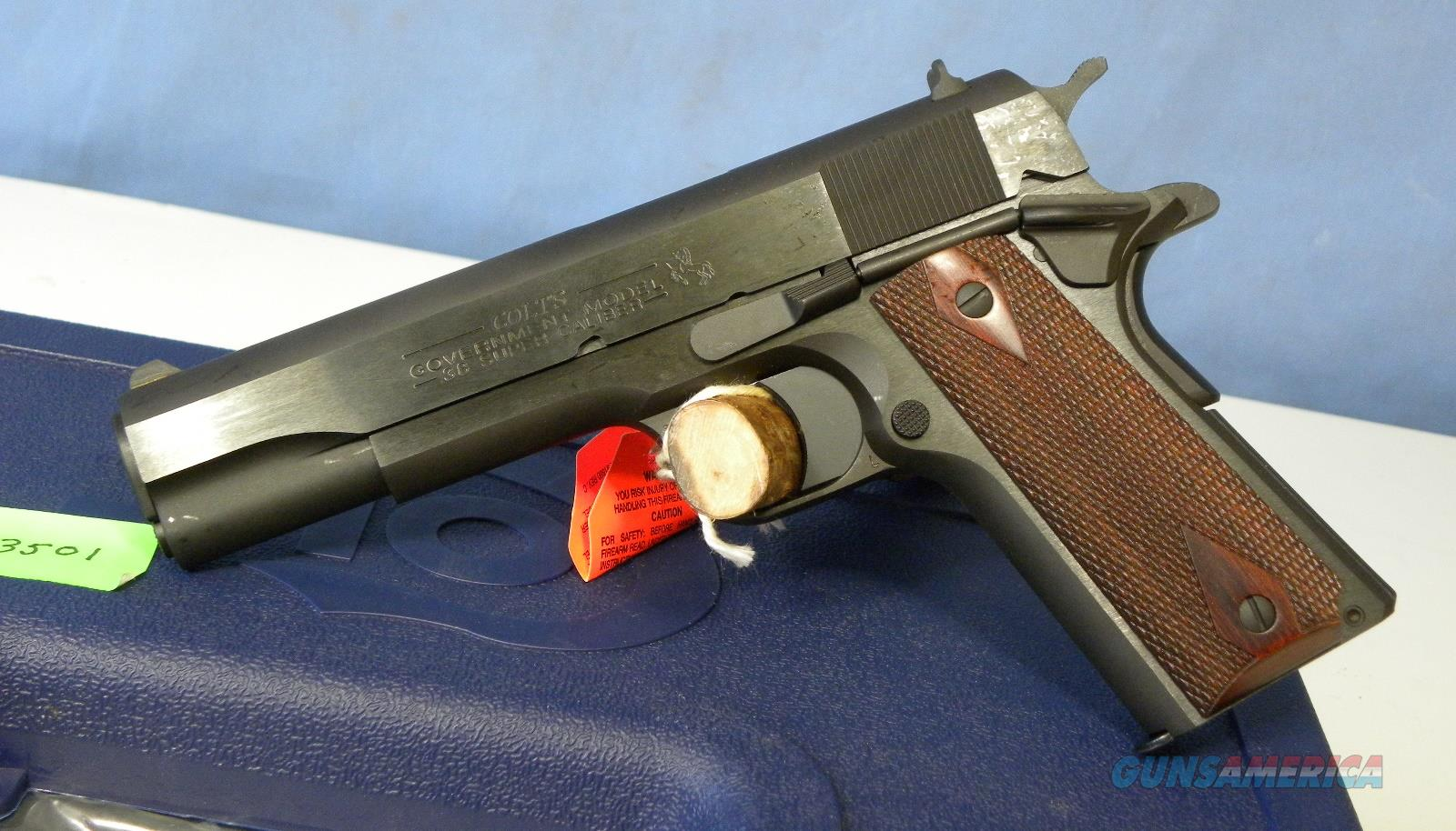 Colt 1911 Government .38 Super 02991  Guns > Pistols > Colt Automatic Pistols (1911 & Var)