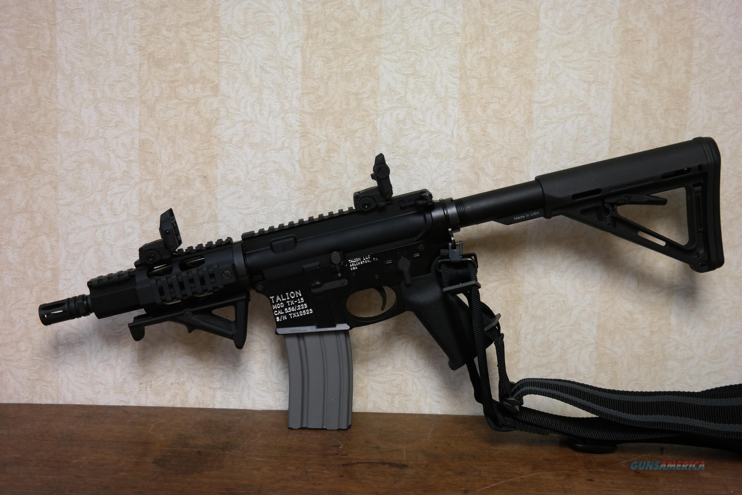 Talion TX15 SBR Class III  Guns > Rifles > Class 3 Rifles > Class 3 Any Other Weapon