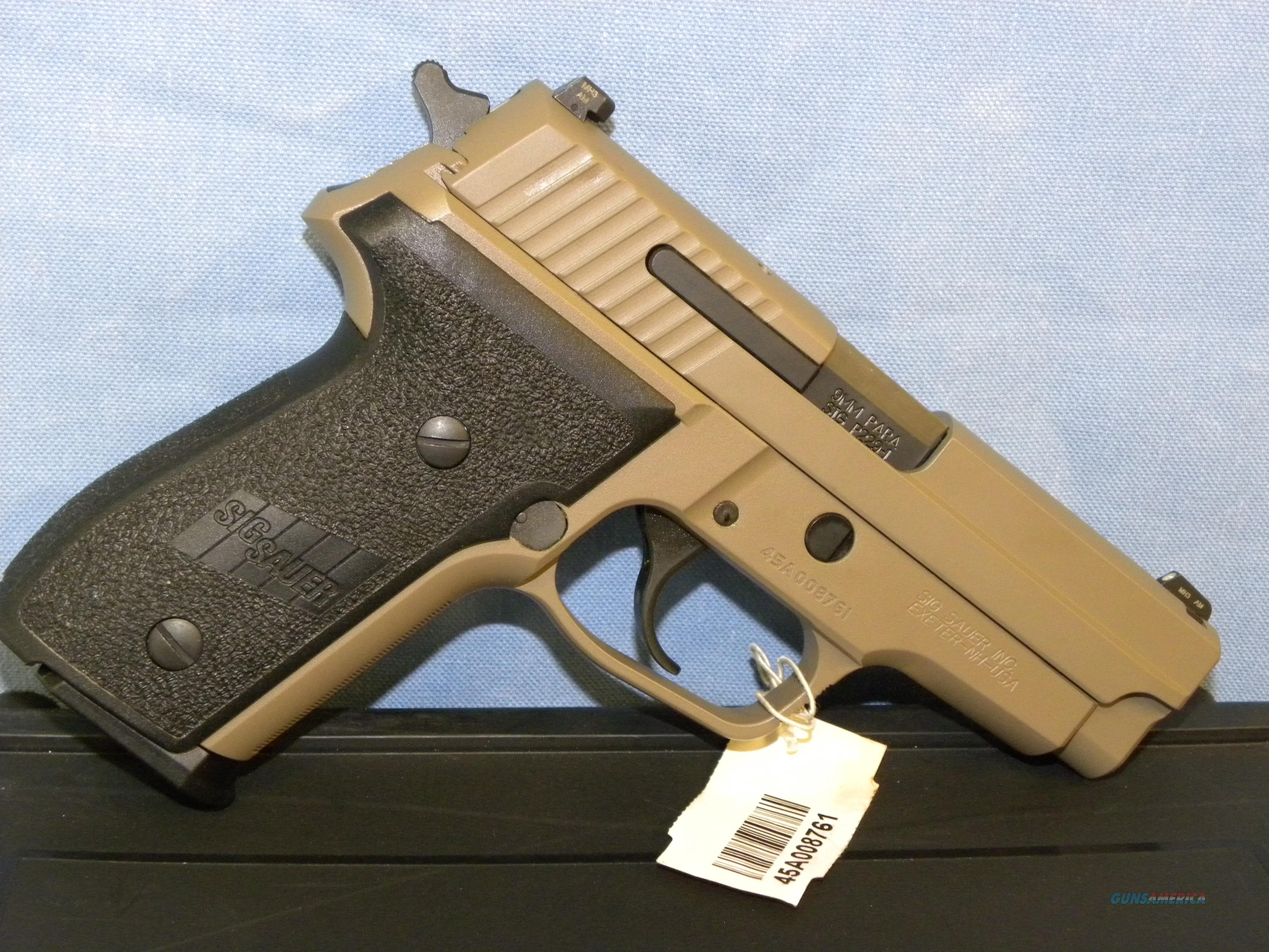 Sig Sauer M11-A1 Desert  Guns > Pistols > Sig - Sauer/Sigarms Pistols > P229