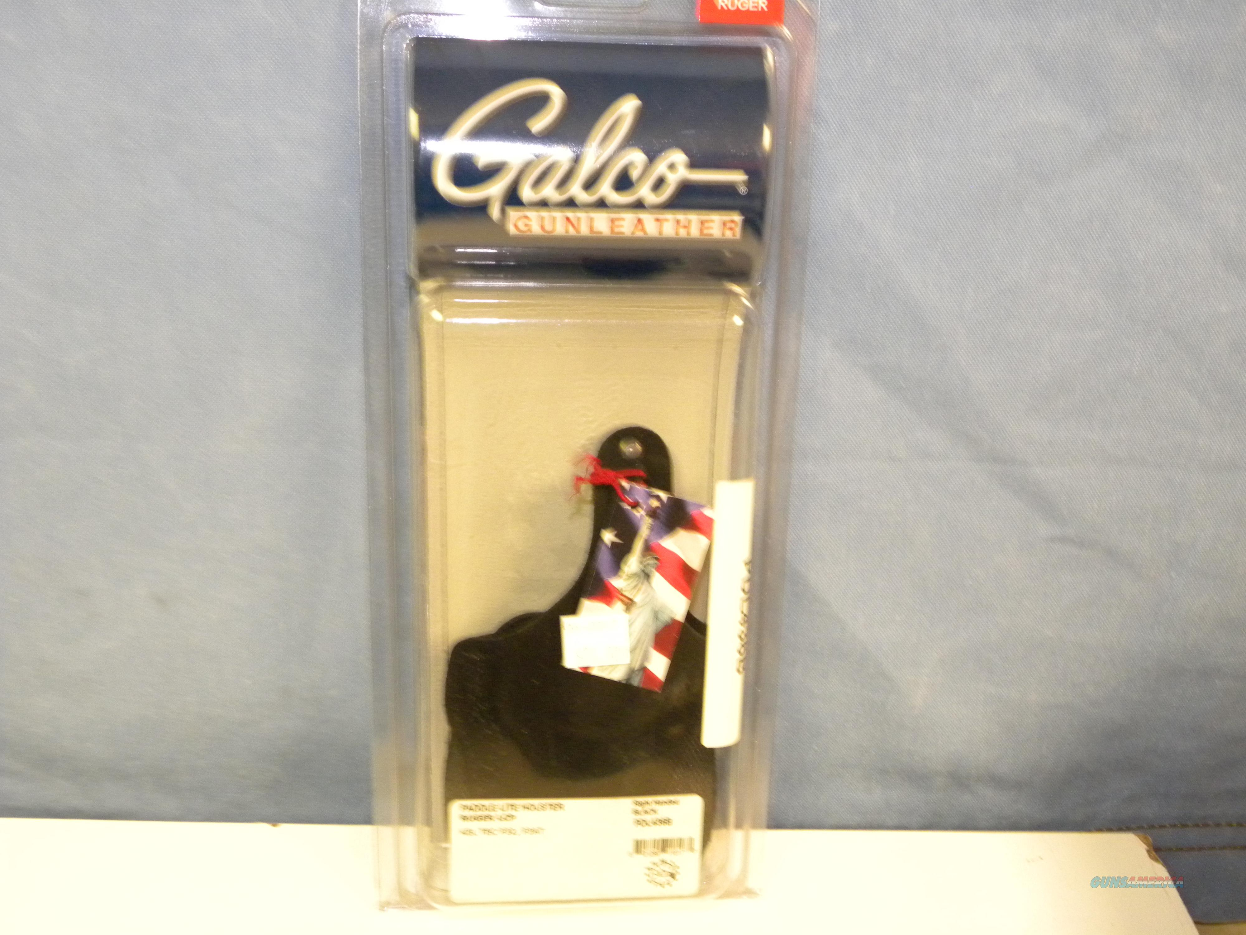 Galco Paddle Lite (PDL436B)  Non-Guns > Holsters and Gunleather > Large Frame Auto