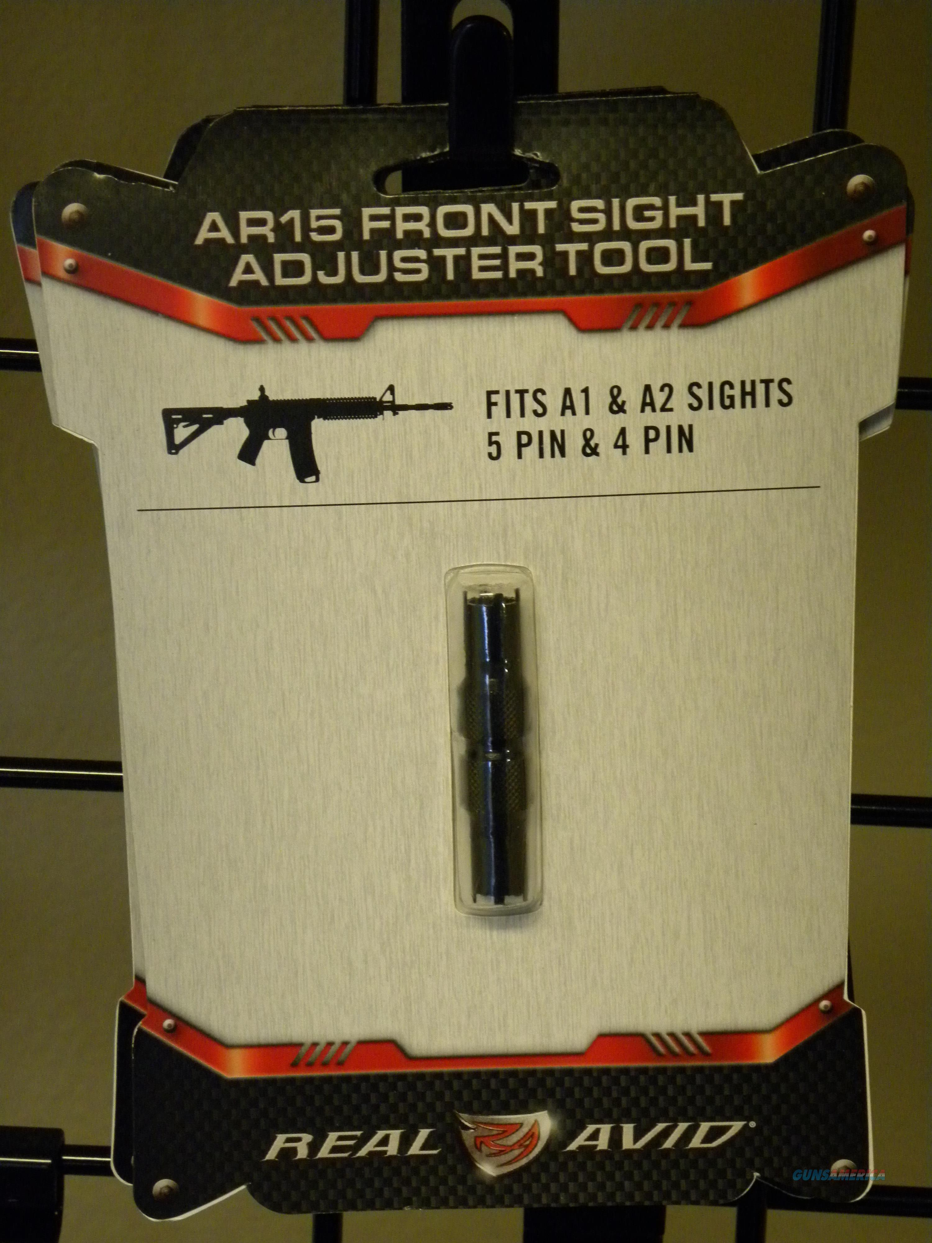 Real Avid AR15 Sight Adjustment Tool  Non-Guns > Gunsmith Tools/Supplies