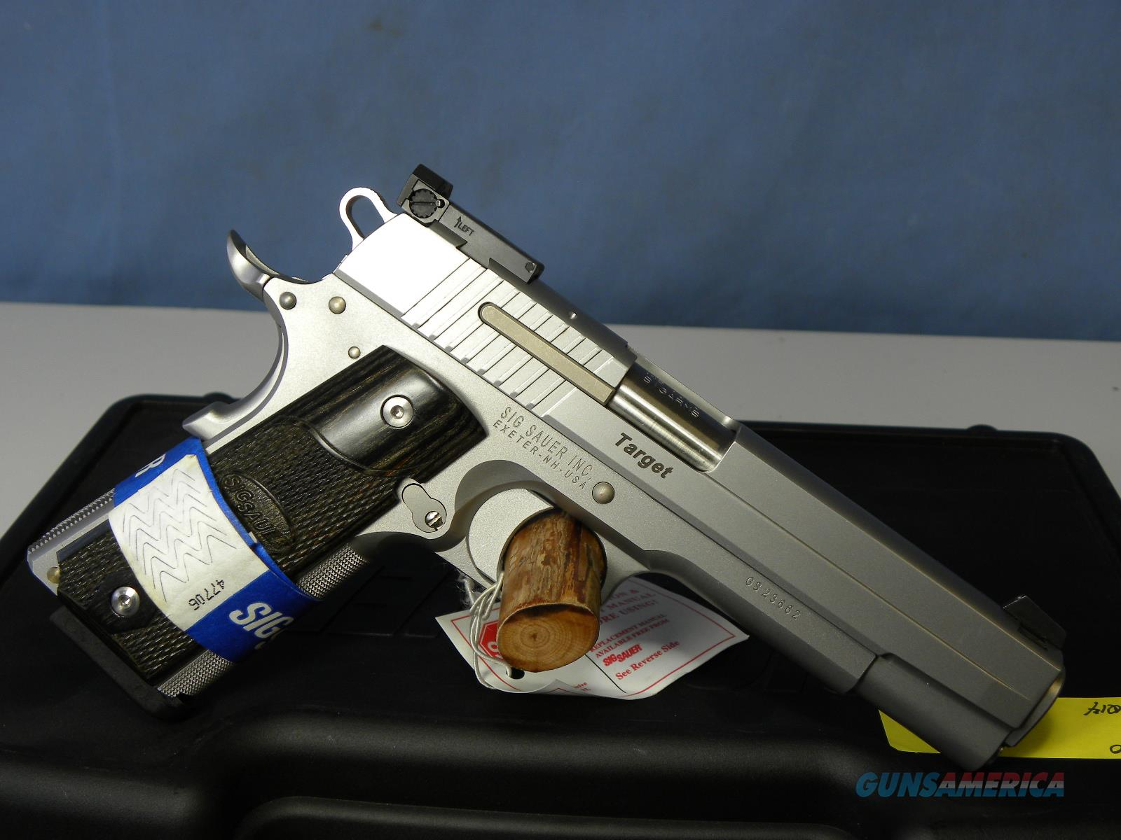 Sig Sauer 1911-45 Stainless Target  Guns > Pistols > Sig - Sauer/Sigarms Pistols > 1911