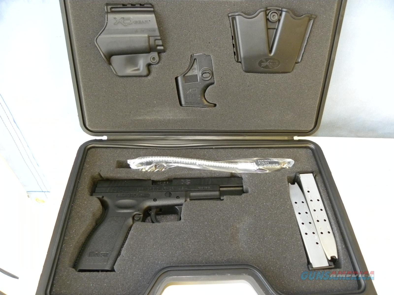 Springfield XD-40 Tactical   Guns > Pistols > Springfield Armory Pistols > XD (eXtreme Duty)