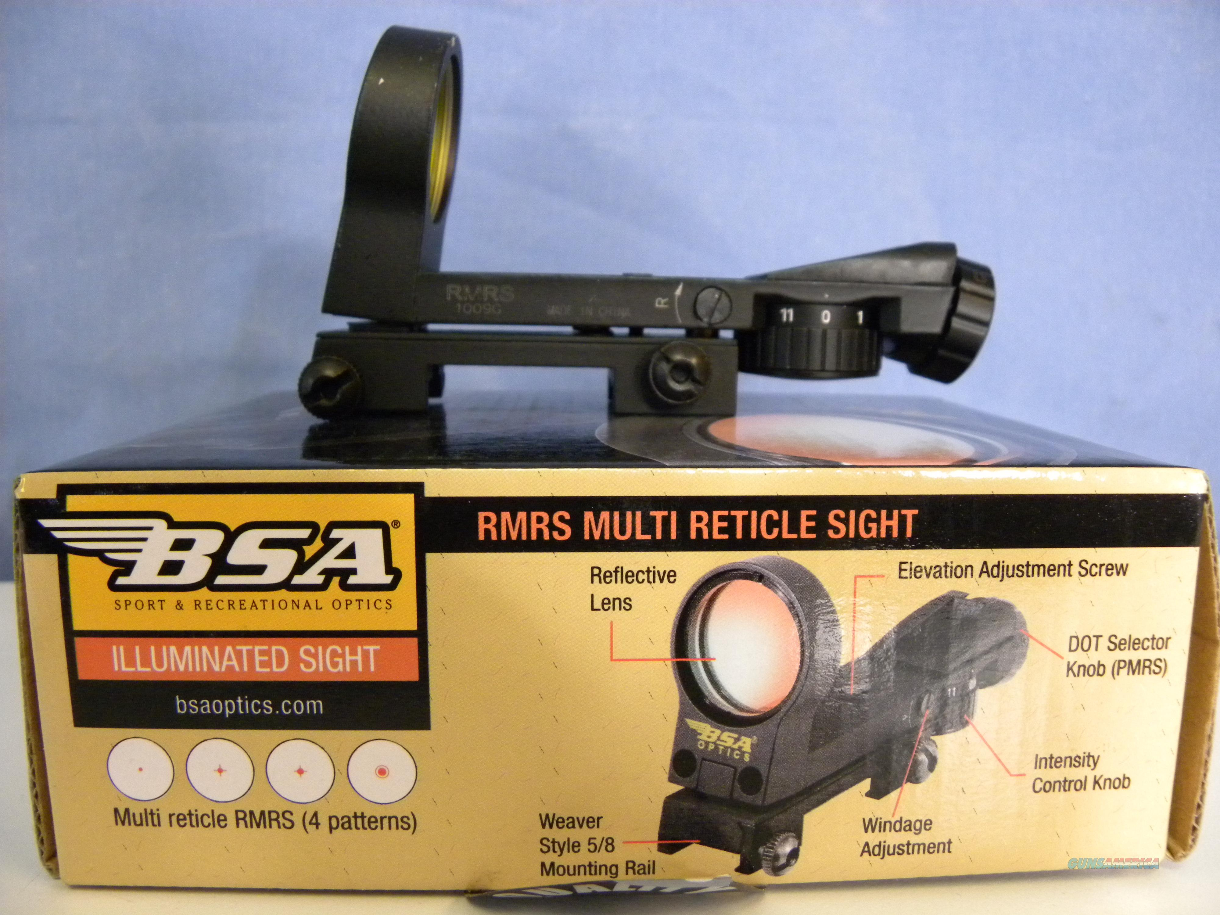 BSA Illuminated RMRS Multi-Reticle Sight  Non-Guns > Scopes/Mounts/Rings & Optics > Tactical Scopes > Variable Recticle