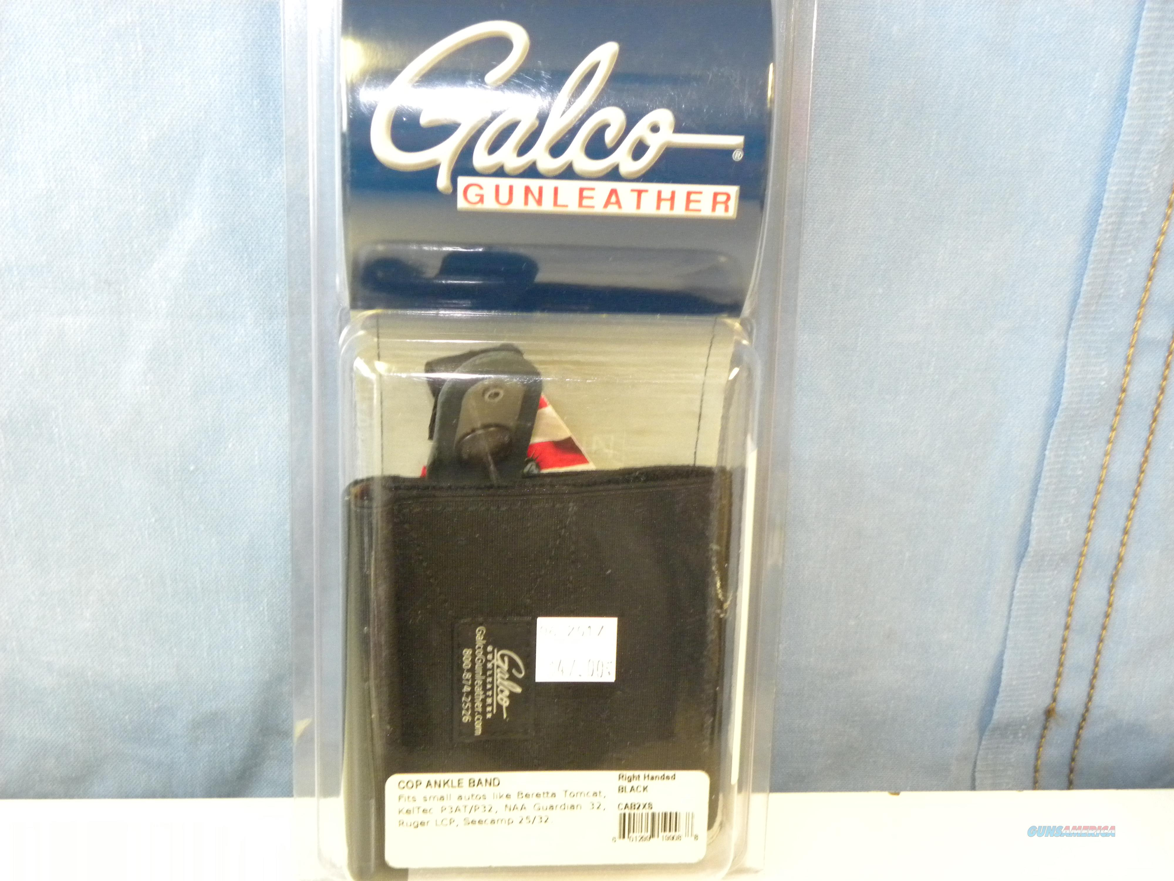 Galco Cop Ankle Band (CAB2XS)  Non-Guns > Holsters and Gunleather > Concealed Carry