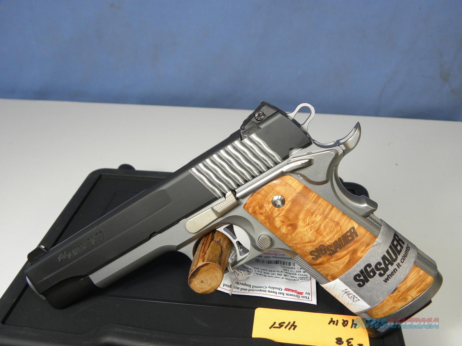 Sig Sauer 1911-45-STX  Guns > Pistols > Sig - Sauer/Sigarms Pistols > 1911