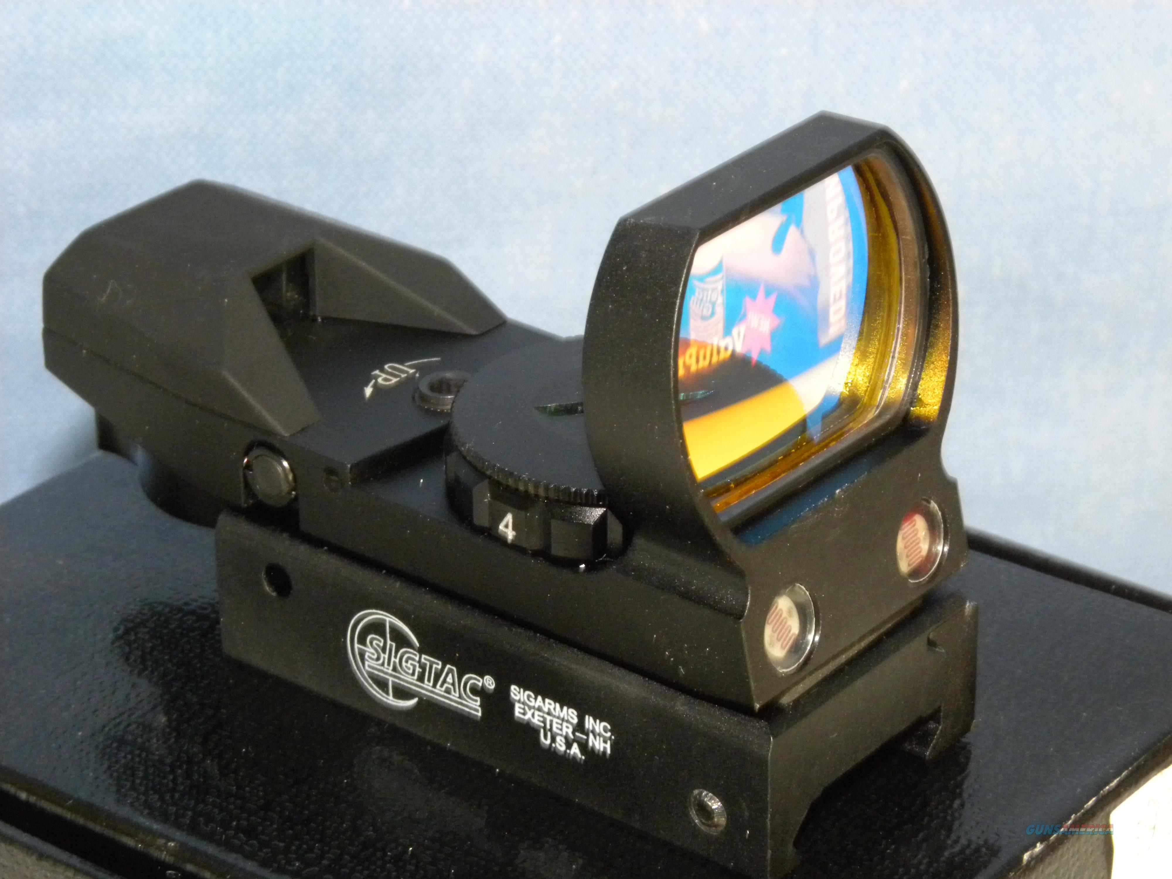 Sig Sauer SIGTAC Holosight  Non-Guns > Scopes/Mounts/Rings & Optics > Tactical Scopes > Variable Recticle