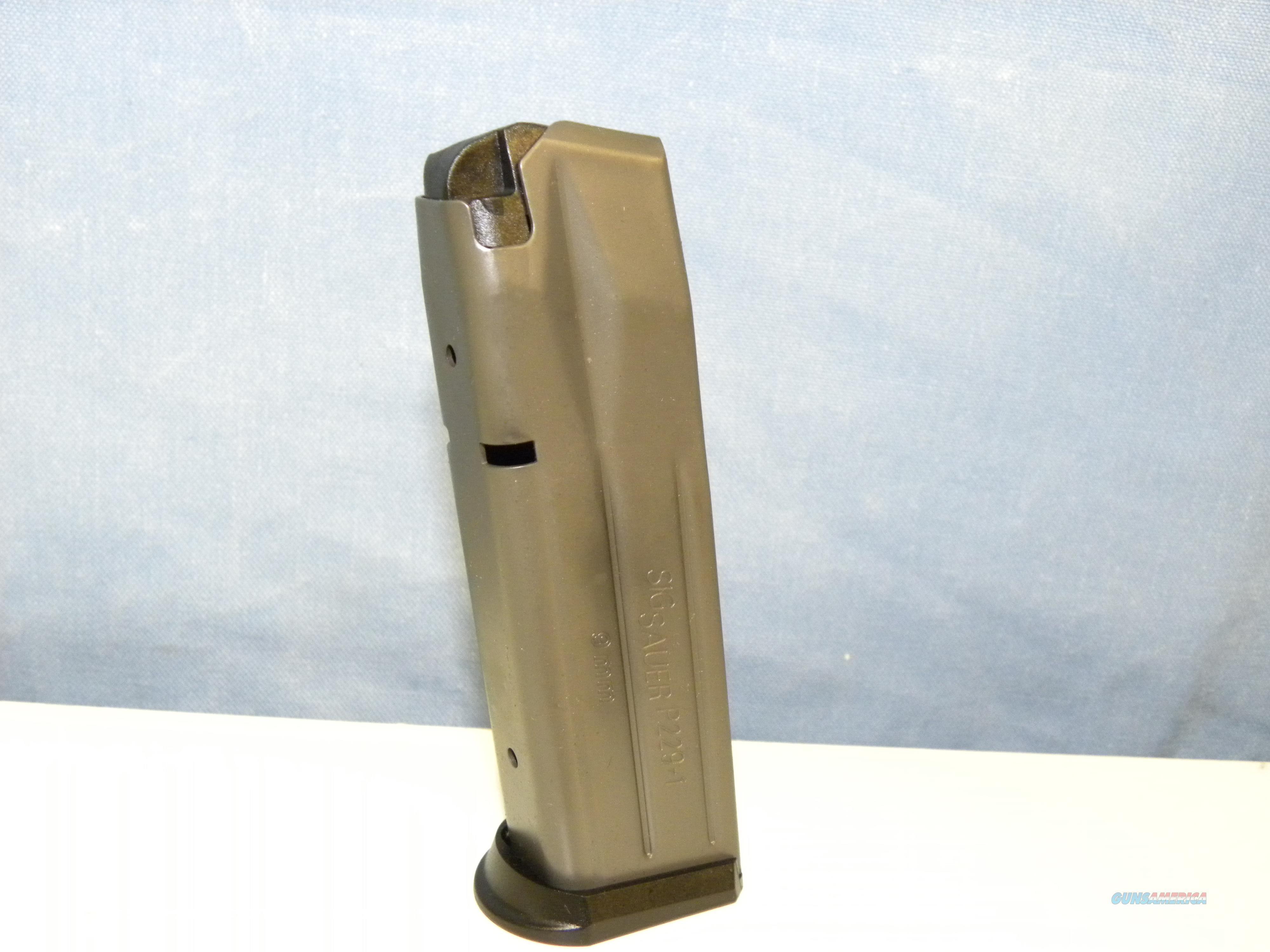 Sig Sauer 229 9mm Magazine 15 RD   Non-Guns > Magazines & Clips > Pistol Magazines > Sig
