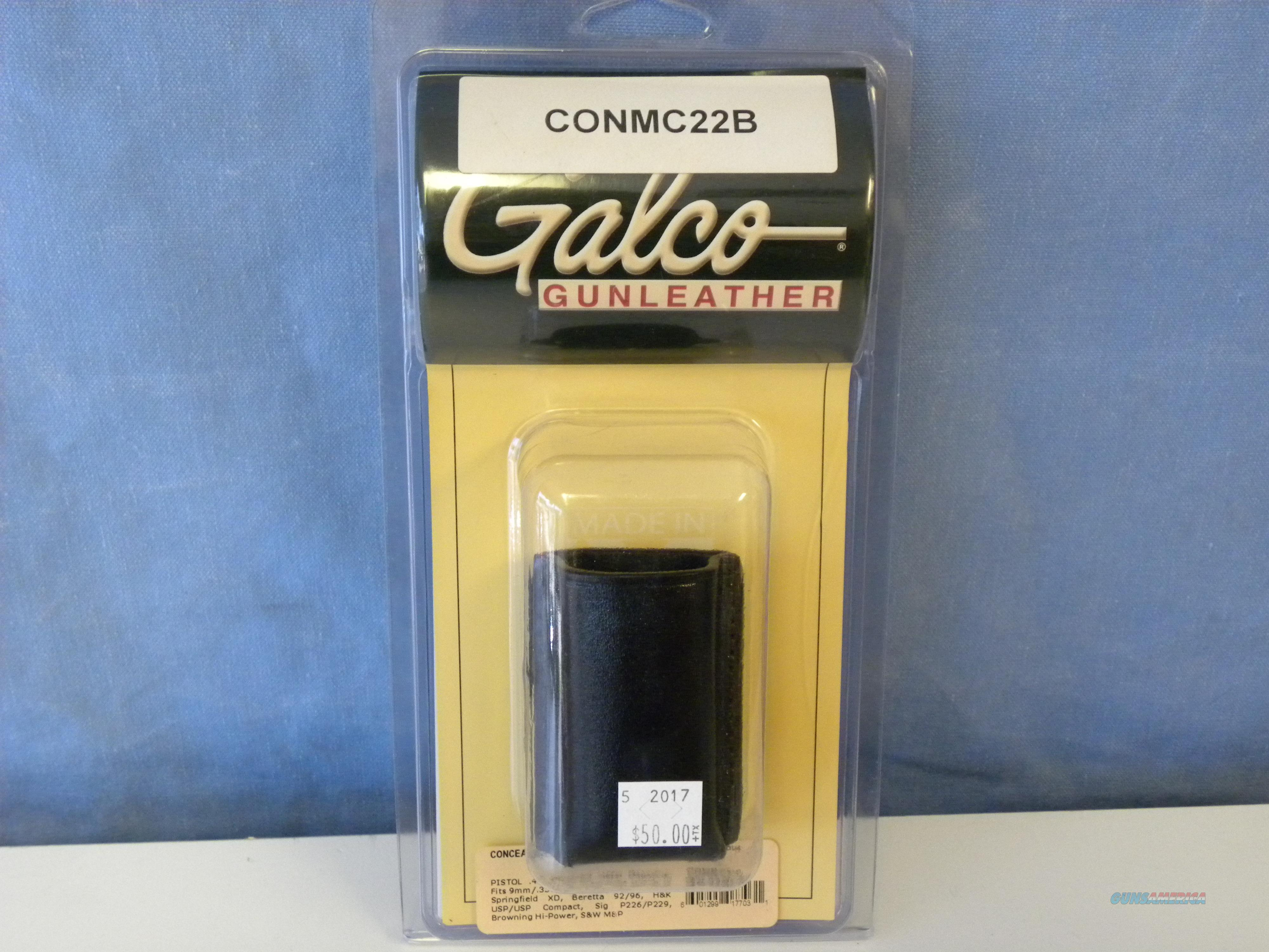 Galco Concealable Magazine Case  Non-Guns > Holsters and Gunleather > Magazine Holders