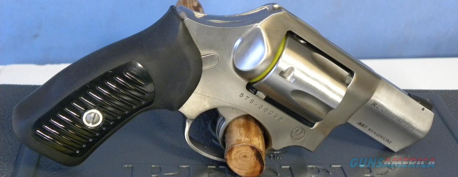 Ruger SP101 .357 Mag SS Bobbed Hammer 5720  Guns > Pistols > Ruger Double Action Revolver > SP101 Type