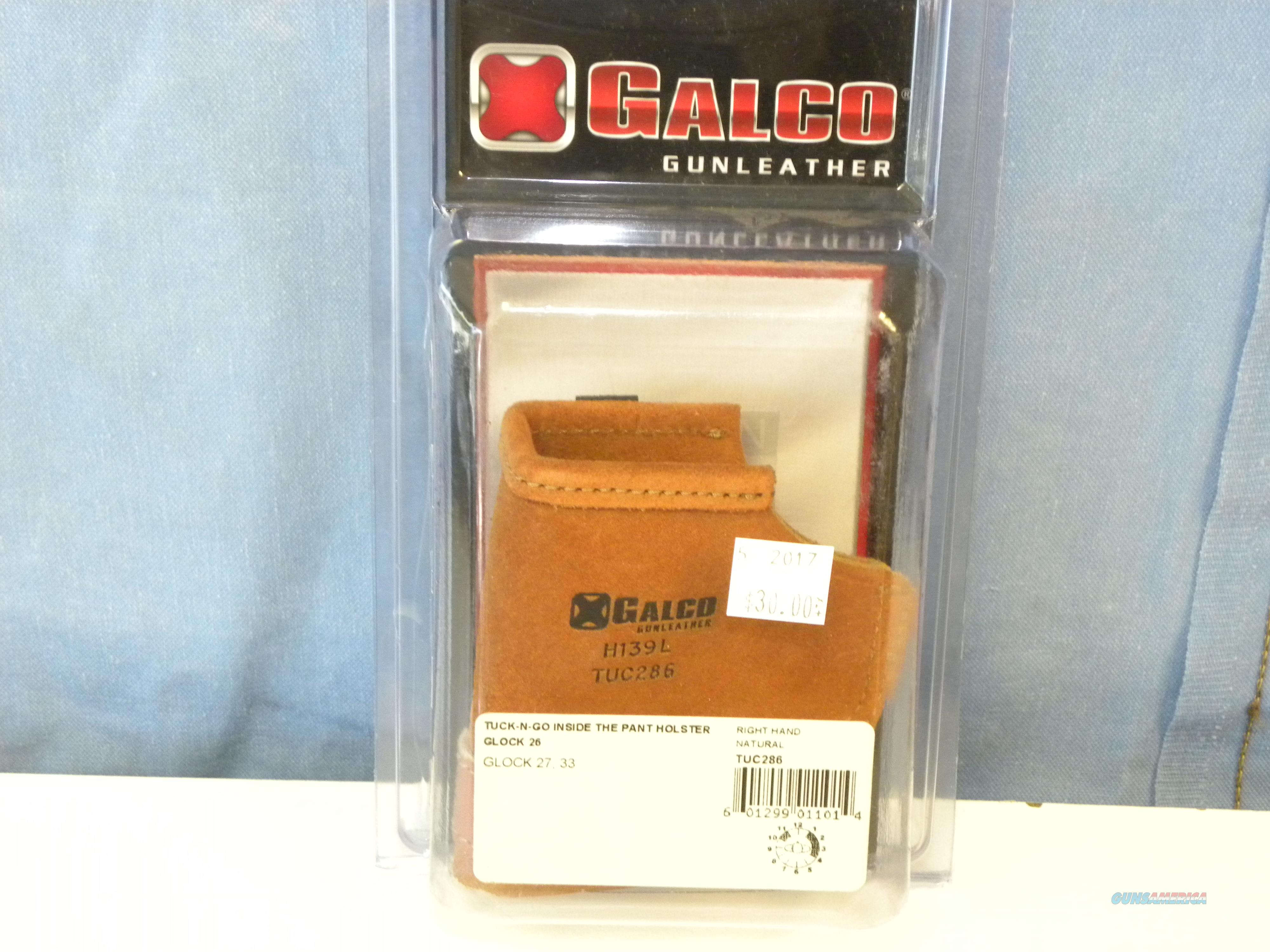 Galco Tuck-N-Go (Glock 26, 27, 33)  Non-Guns > Holsters and Gunleather > Concealed Carry