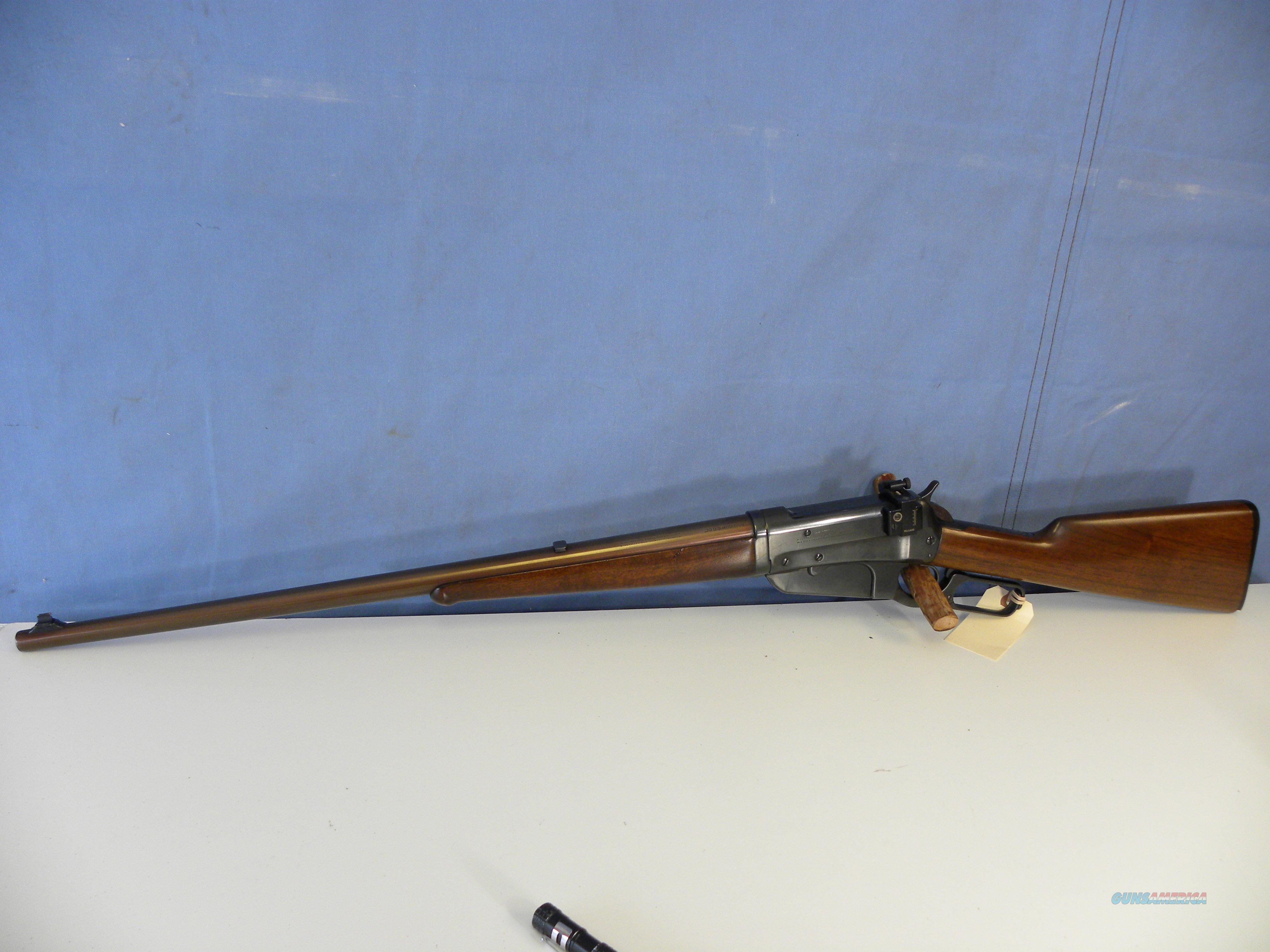 Winchester 1895 (1915) Takedown  Guns > Rifles > Winchester Rifles - Modern Lever > Other Lever > Pre-64