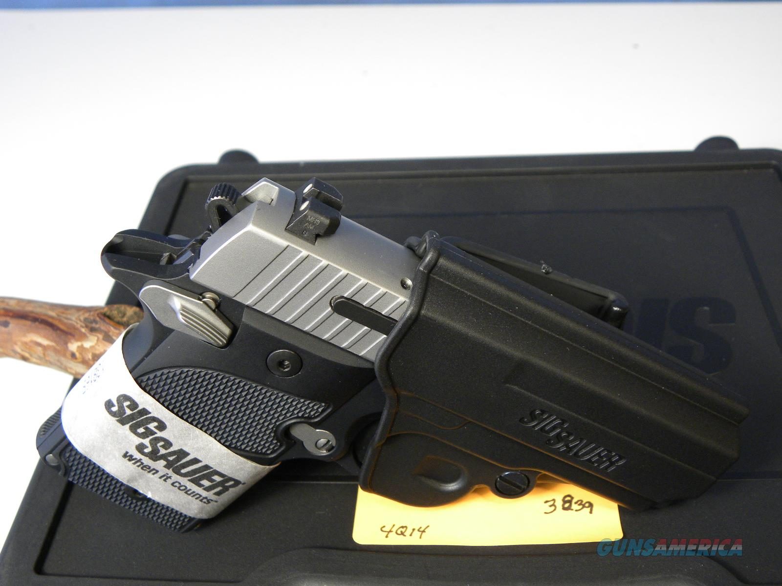 Sig Sauer 938-9-AG-AMBI Two-Tone  Guns > Pistols > Sig - Sauer/Sigarms Pistols > Other