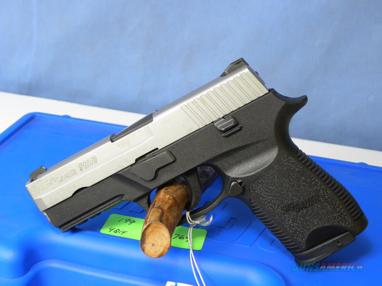 Sig Sauer 250 .40 S&W Compact Two Tone  Guns > Pistols > Sig - Sauer/Sigarms Pistols > P250