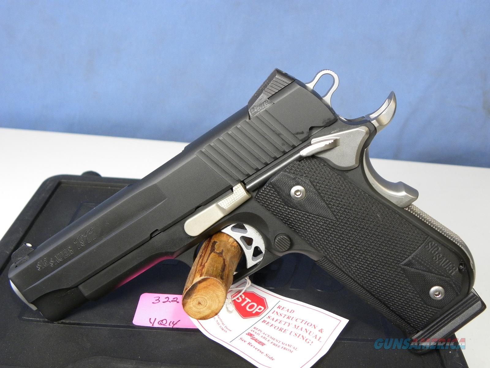 Sig Sauer 1911 Fastback Carry 45-Nightmare  Guns > Pistols > Sig - Sauer/Sigarms Pistols > 1911