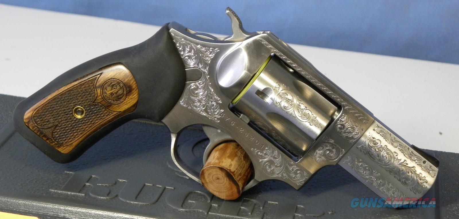 Ruger SP101 Engraved SS 5764  Guns > Pistols > Ruger Double Action Revolver > SP101 Type