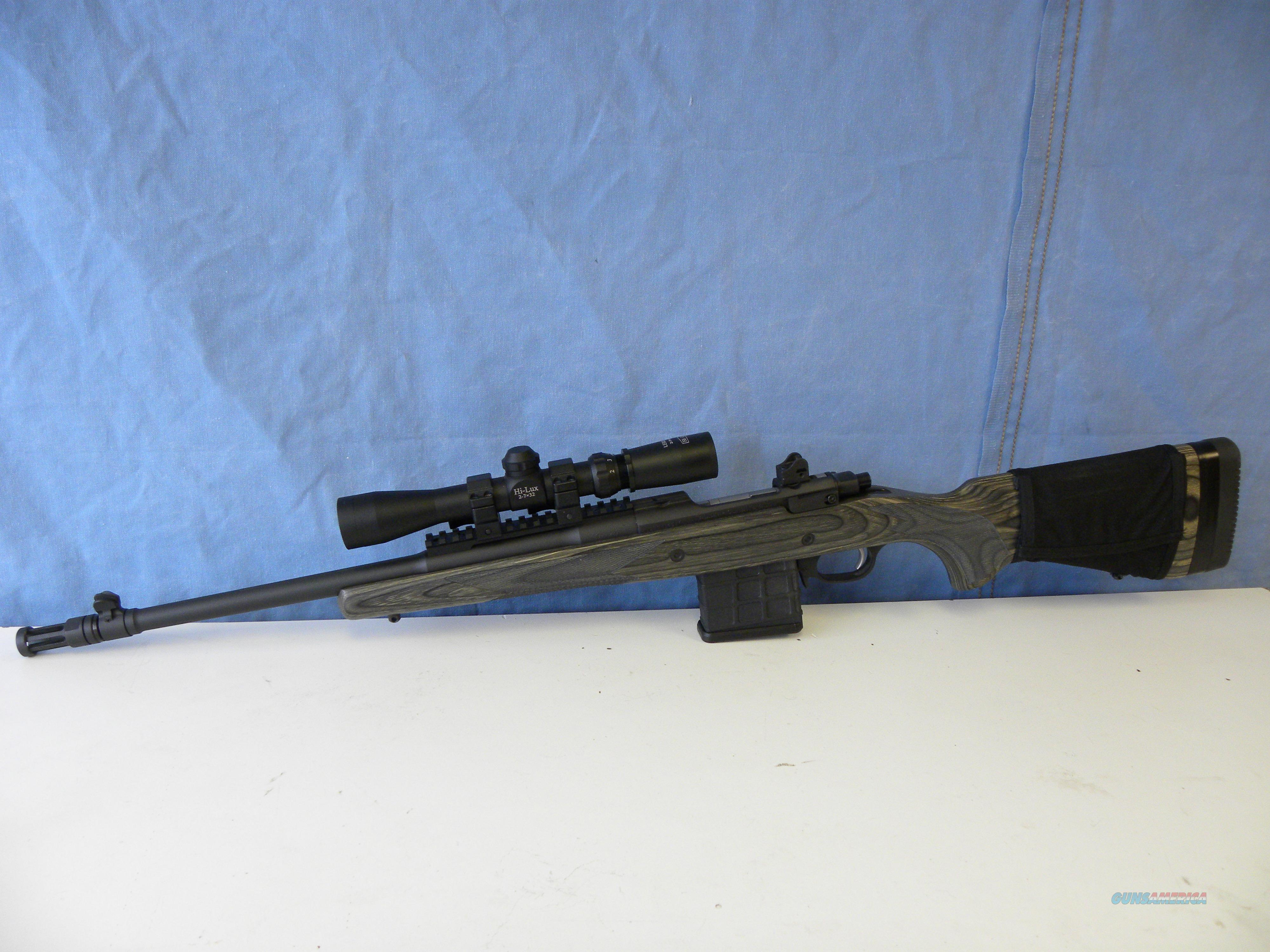 Ruger Gunsite Scout .308 Win w/ Hi-Lux Scope  Guns > Rifles > Ruger Rifles > Model 77