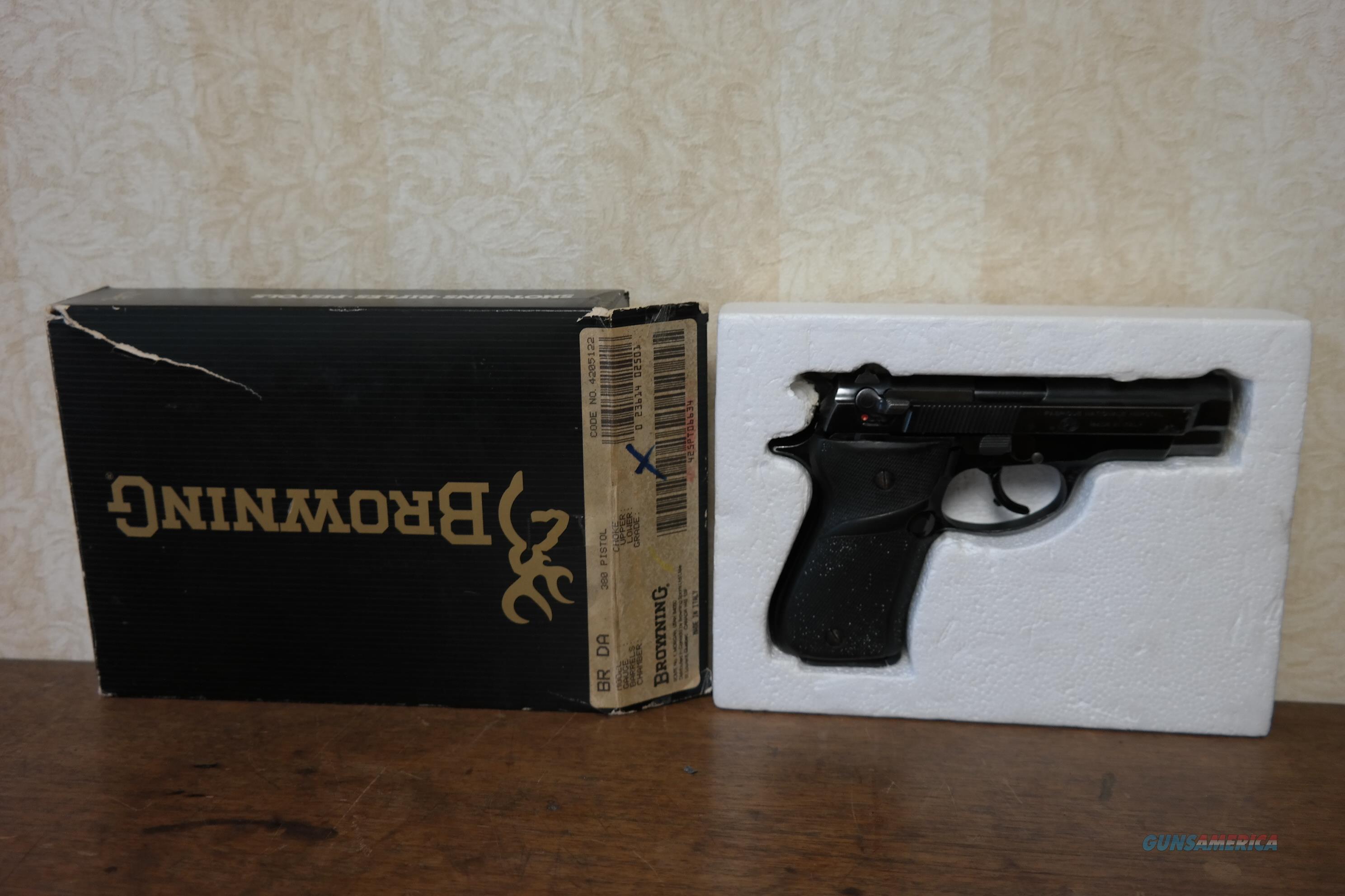 Browning / Beretta BDA .380 ACp Pistol  Guns > Pistols > Browning Pistols > Other Autos