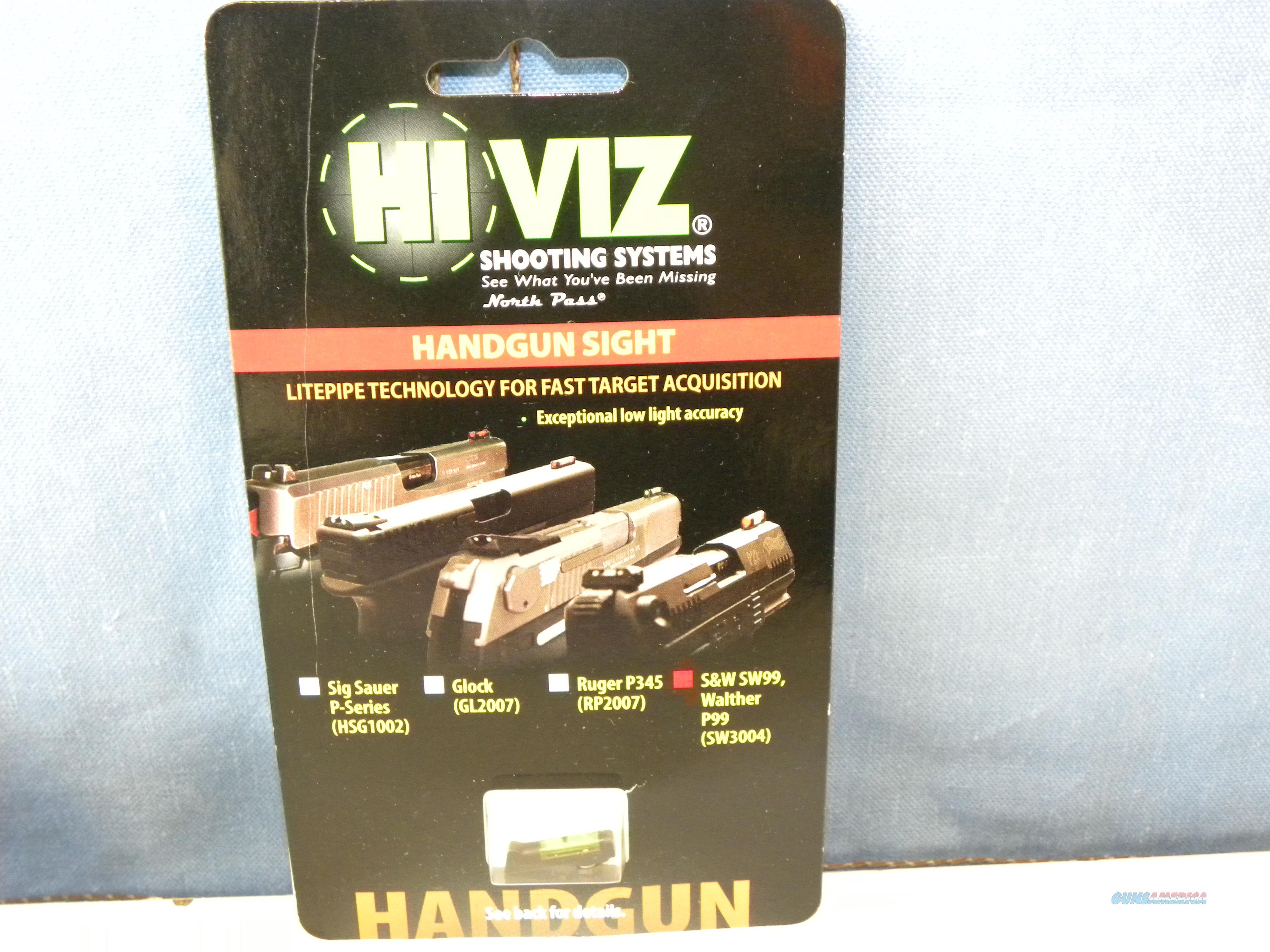 Hi-Viz Green Fiber Optic Front Sight S&W 99  Non-Guns > Iron/Metal/Peep Sights