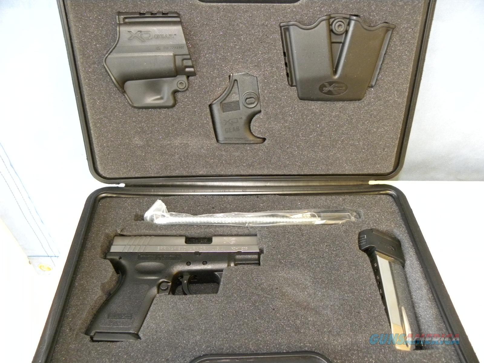 Springfield XD-40 Sub Compact SS  Guns > Pistols > Springfield Armory Pistols > XD (eXtreme Duty)