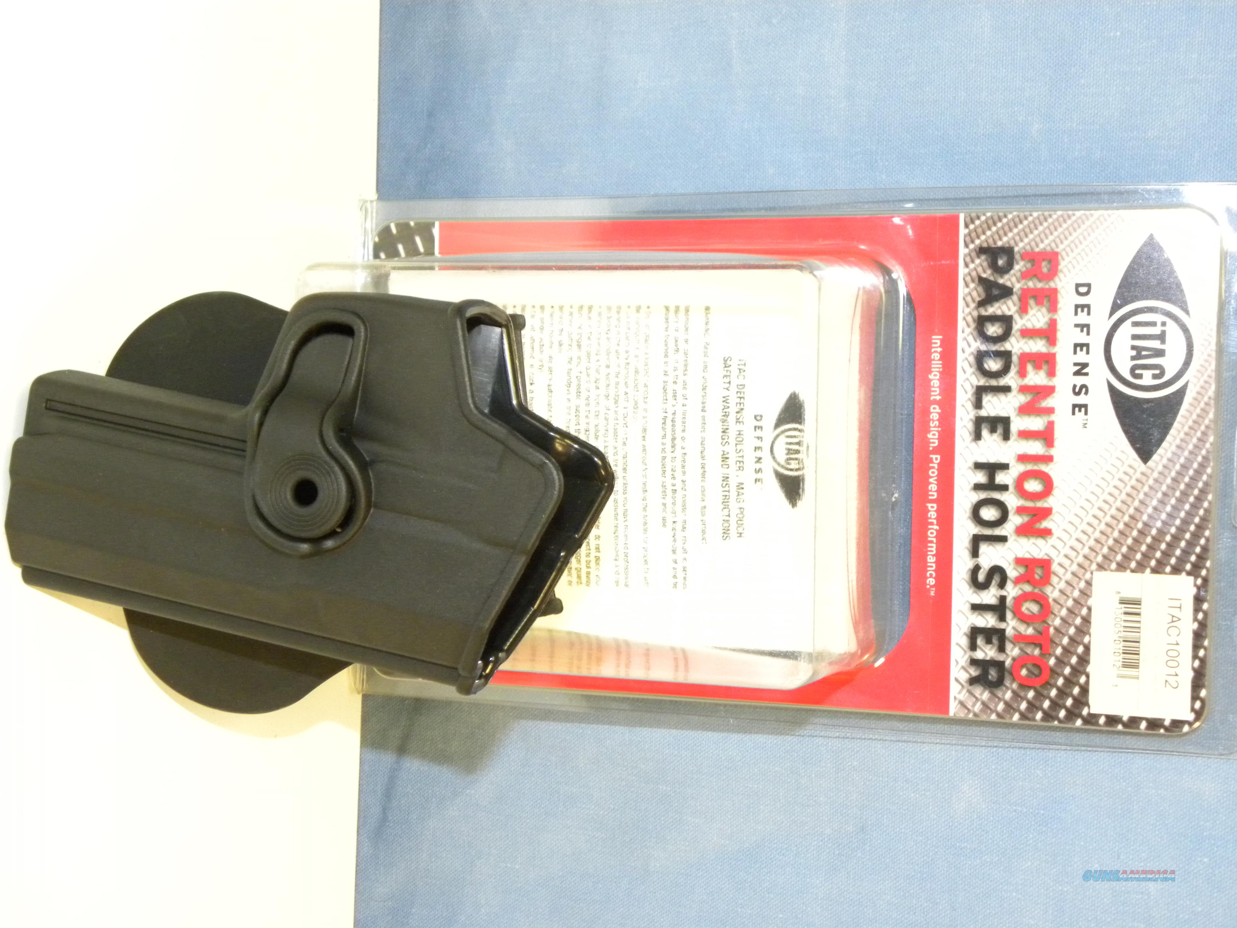 iTAC H&K USP Full Size Retention Paddle Holster  Non-Guns > Holsters and Gunleather > Large Frame Auto