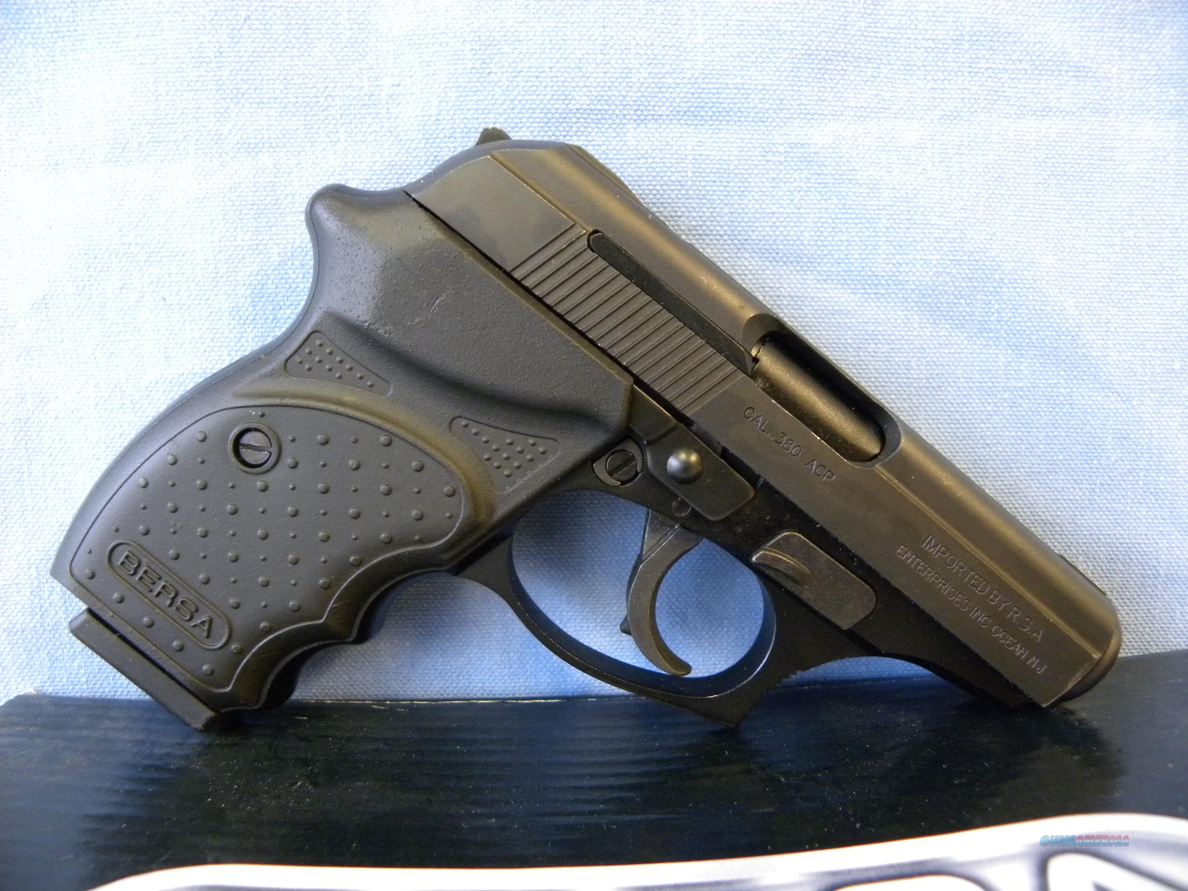 Bersa Thunder 380CC  Guns > Pistols > Bersa Pistols