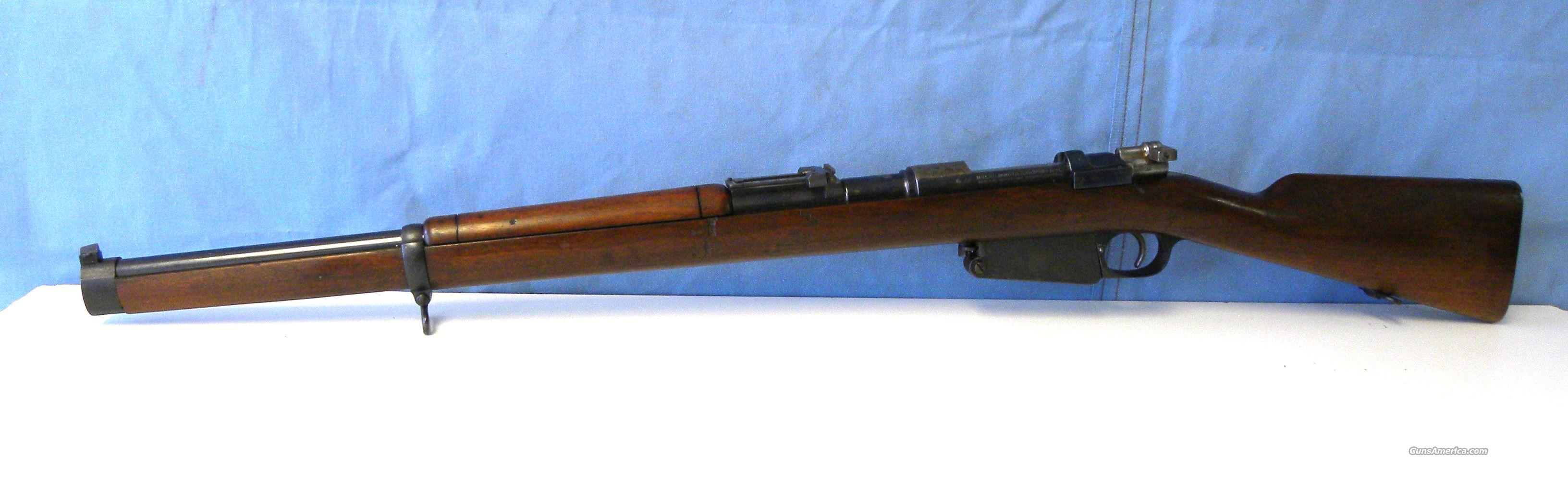 1891 Carbine Mauser DWM  Guns > Rifles > Mauser Rifles > German