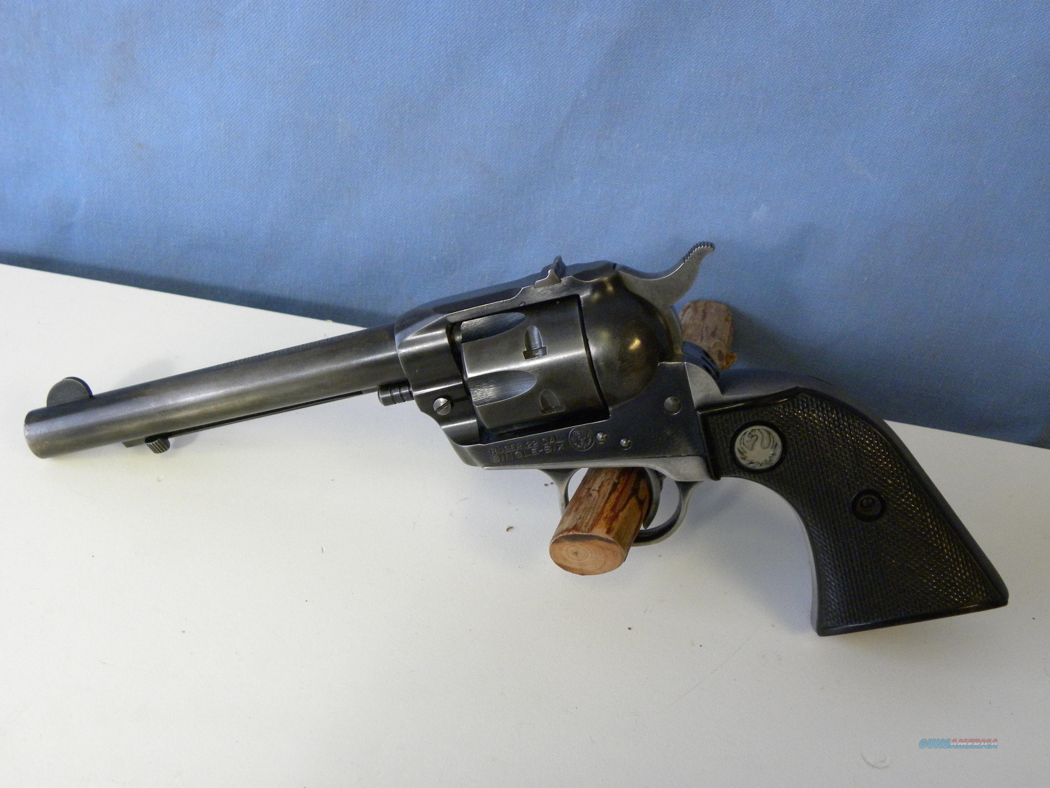 Ruger Single Six Flat Gate 27XXX   Guns > Pistols > Ruger Single Action Revolvers > Single Six Type
