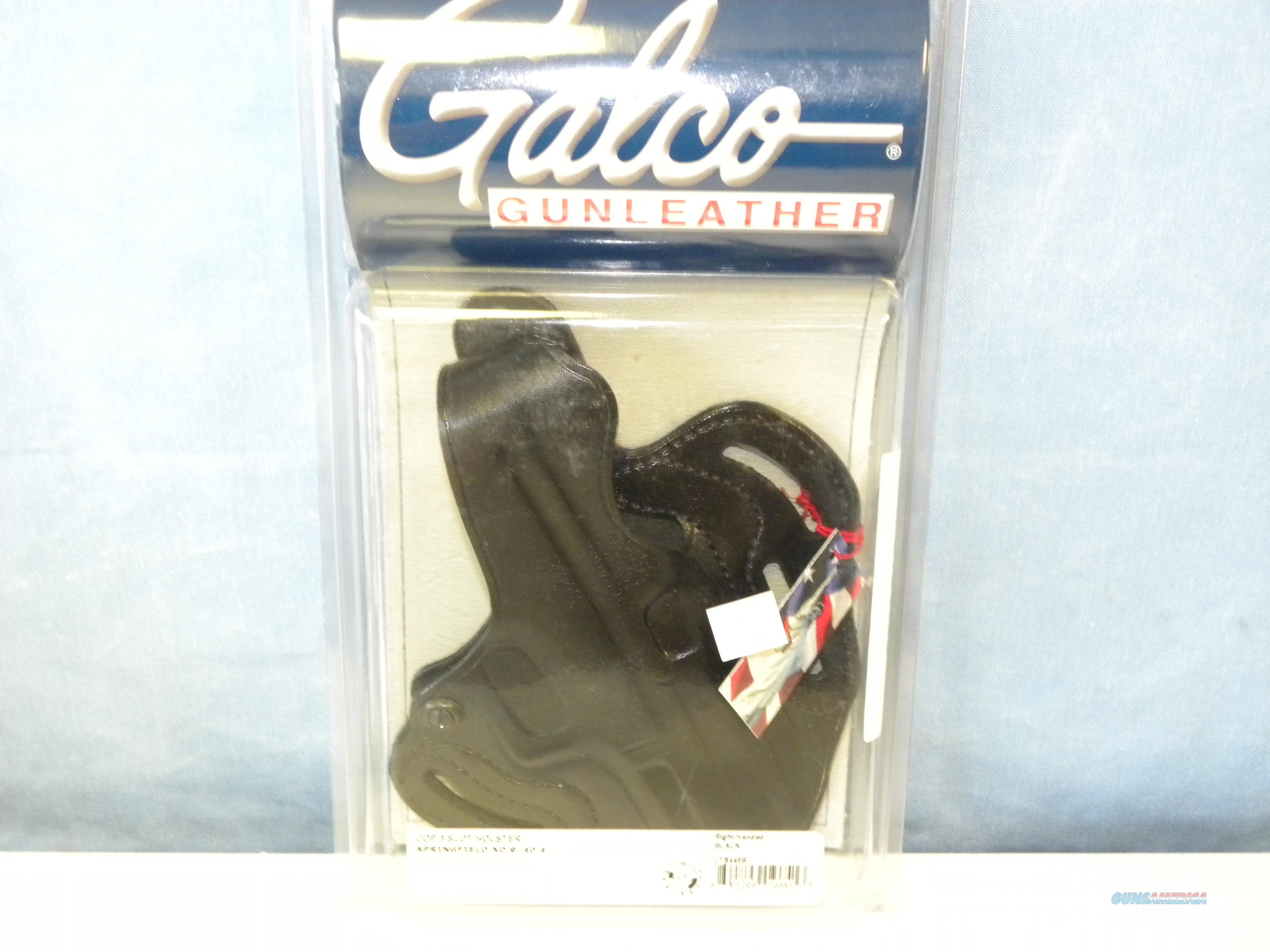 Galco Cop 3 Slot Holster (CTS440B)  Non-Guns > Holsters and Gunleather > Police Belts/Holsters