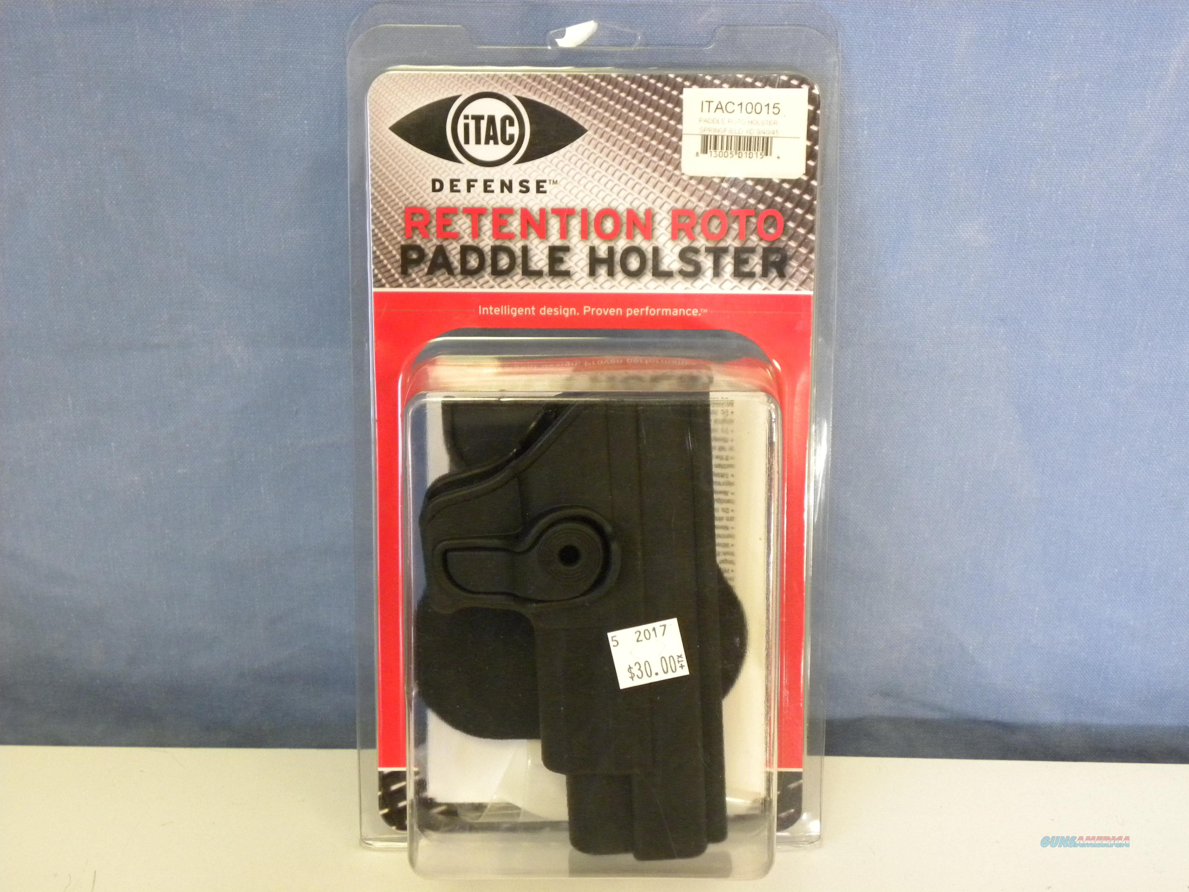 iTAC Springfield XD Paddle Retention Roto Holster  Non-Guns > Holsters and Gunleather > Large Frame Auto