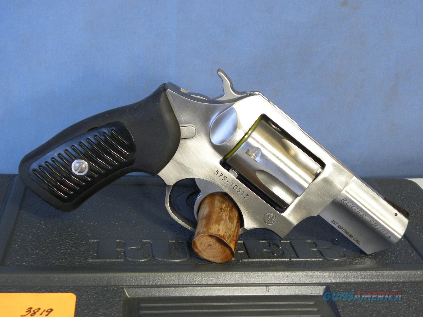 Ruger SP101 .357 Mag 5718  Guns > Pistols > Ruger Double Action Revolver > SP101 Type
