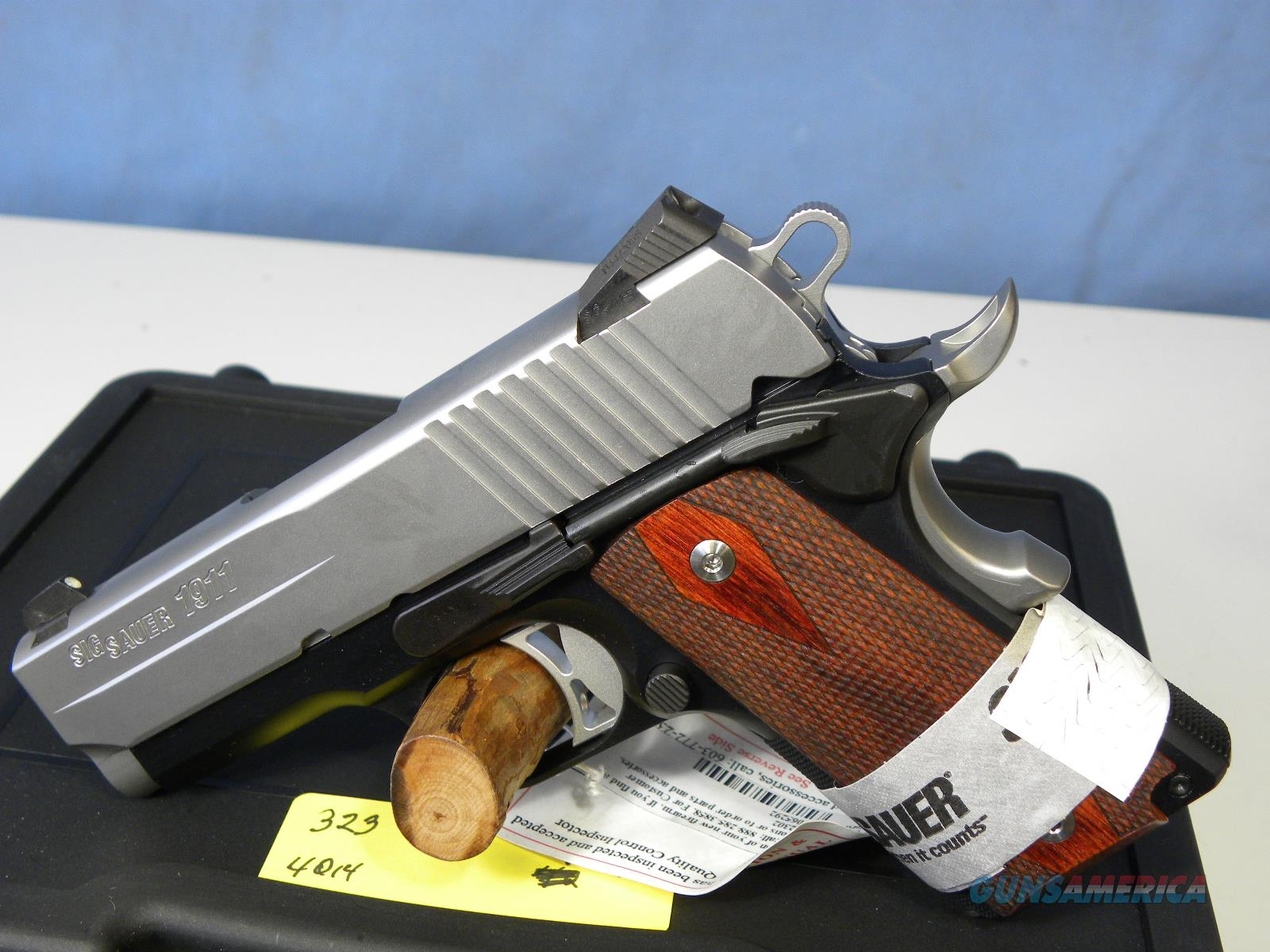 Sig Sauer 1911 Ultra Two Tone  Guns > Pistols > Sig - Sauer/Sigarms Pistols > 1911