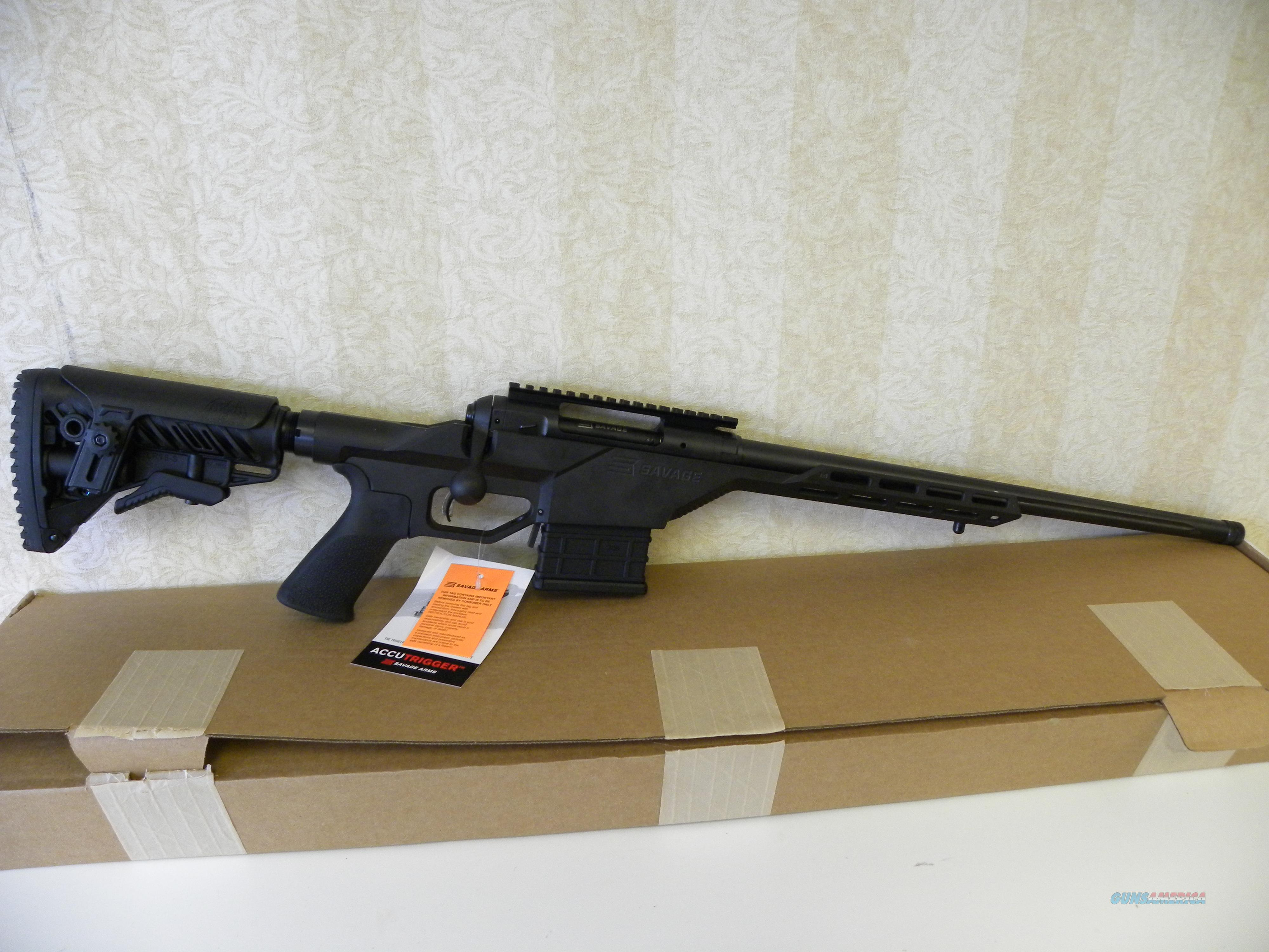 Savage 10BA Stealth .308 Win  Guns > Rifles > Savage Rifles > 10/110
