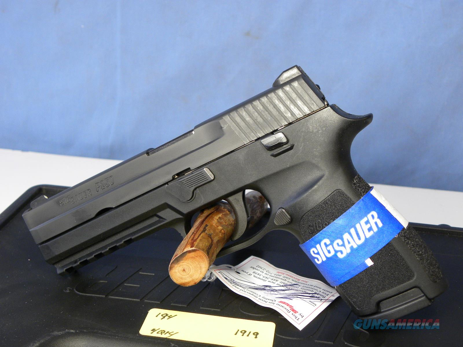 Sig Sauer 250-9 Full Size  Guns > Pistols > Sig - Sauer/Sigarms Pistols > P250