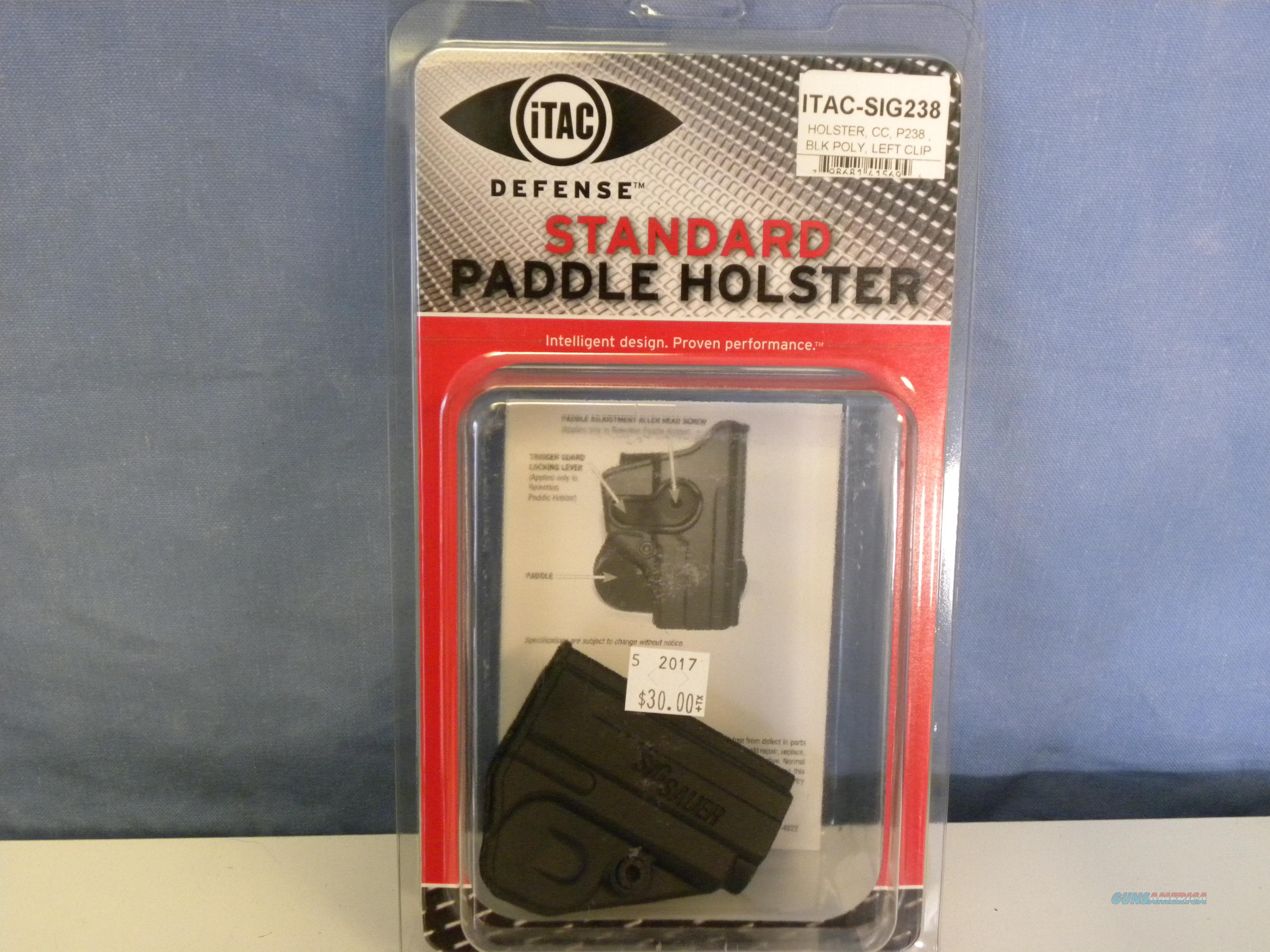 iTAC Sig Sauer 238 Paddle Holster  Non-Guns > Holsters and Gunleather > Other