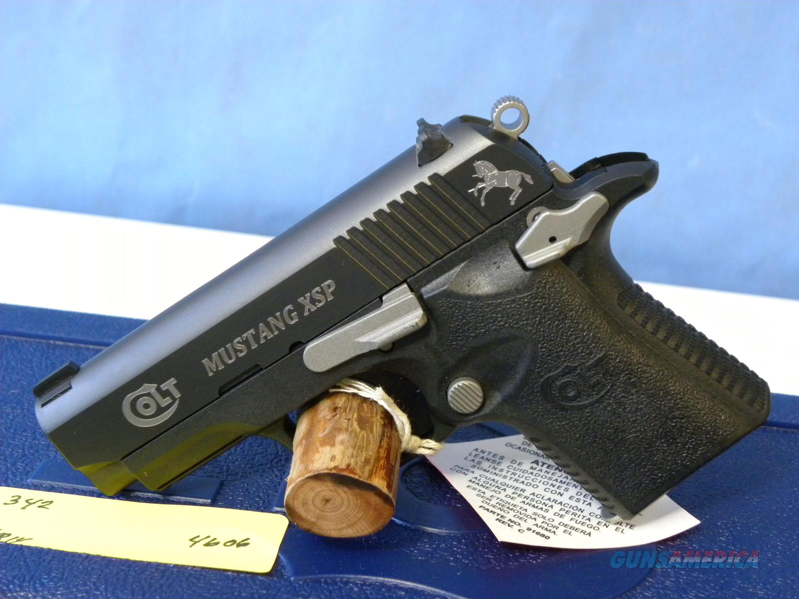 Colt Mustang XSP First Edition 06790FE  Guns > Pistols > Colt Automatic Pistols (.25, .32, & .380 cal)