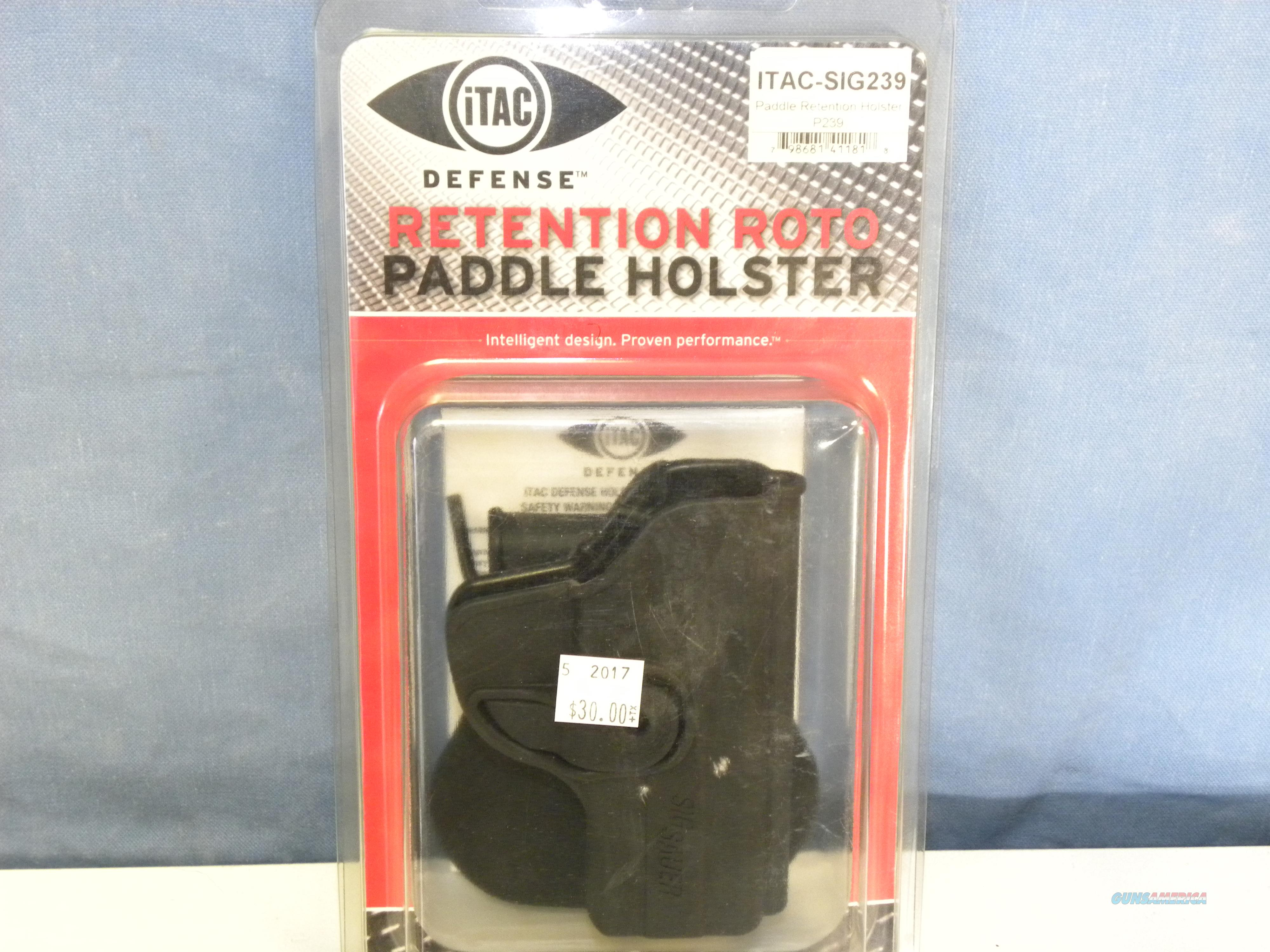 iTAC Sig Sauer 239 Retention Roto Paddle Holster  Non-Guns > Holsters and Gunleather > Large Frame Auto