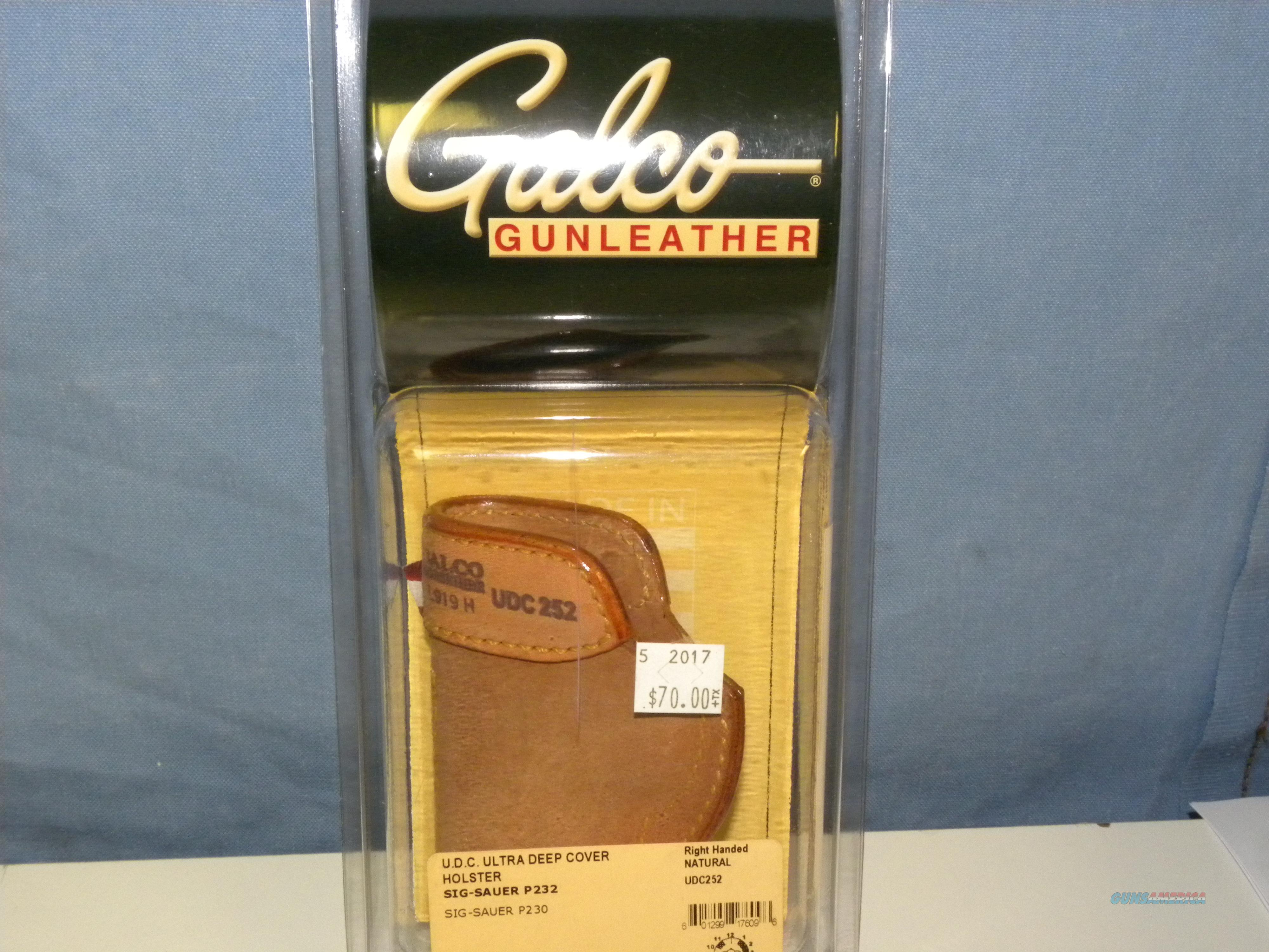 Galco Ultra Deep Cover (UDC252)  Non-Guns > Holsters and Gunleather > Concealed Carry