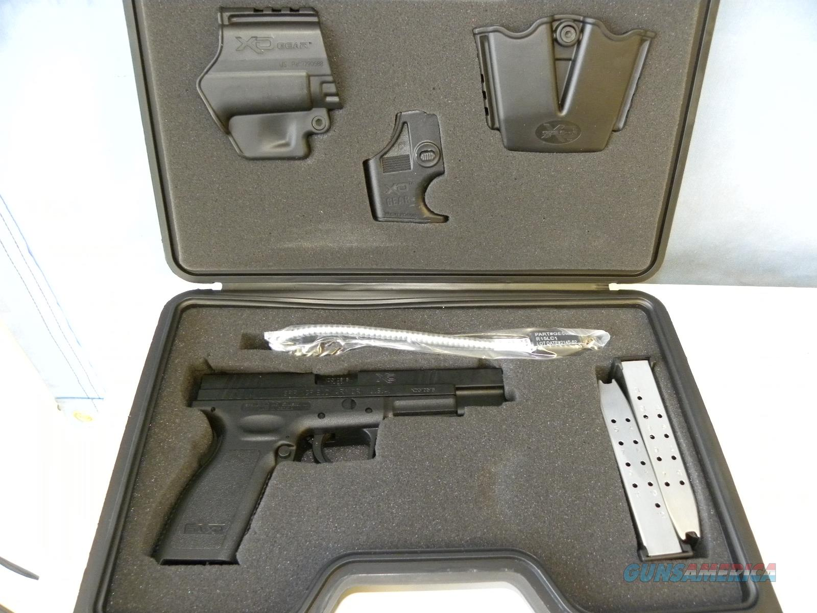 Springfield XD-40 Tactical   Guns > Pistols > Springfield Armory Pistols > XD (eXtreme Duty)