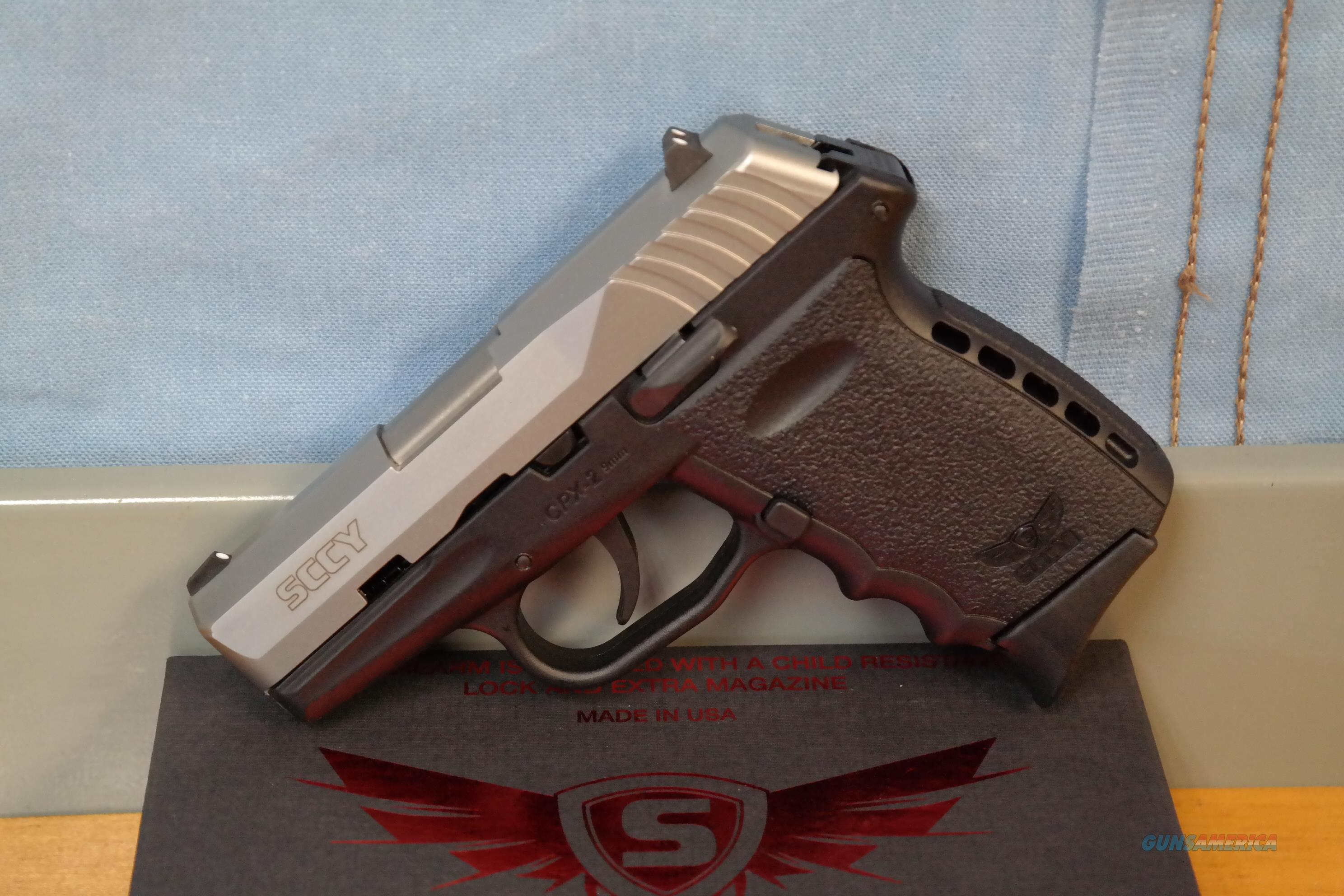 SCCY CPX-2 9mm Two-Tone  Guns > Pistols > SCCY Pistols > CPX2