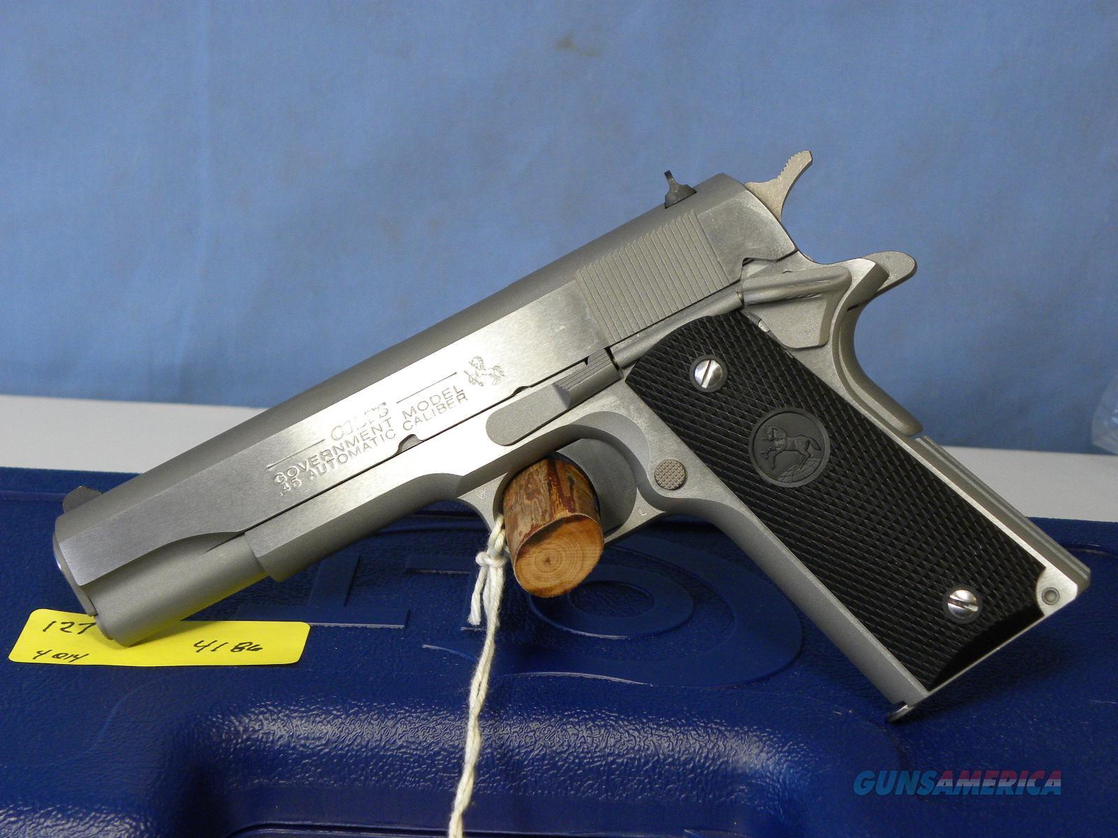 Colt Government SS 01091  Guns > Pistols > Colt Automatic Pistols (1911 & Var)