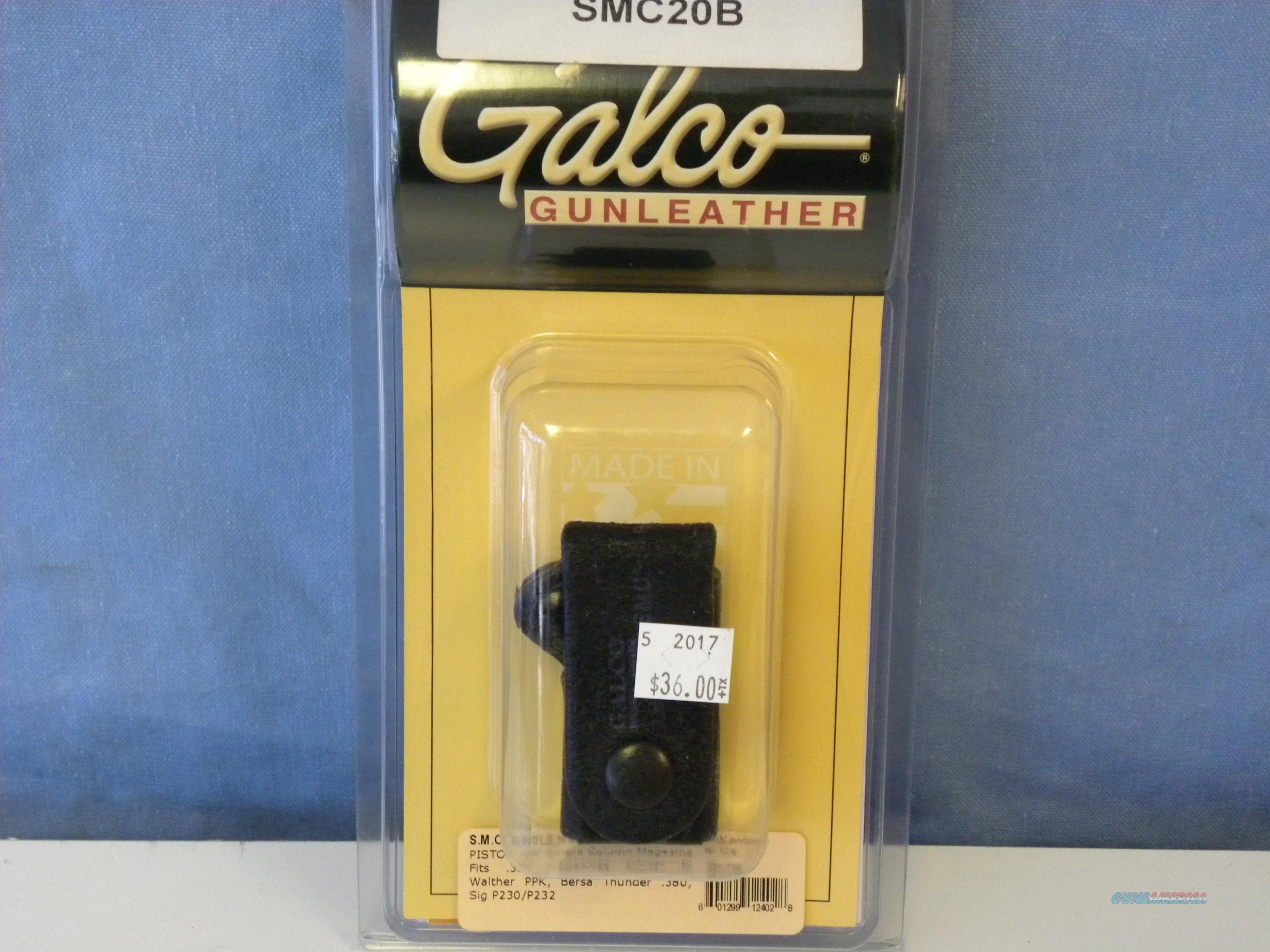 Galco Single Magazine Case (SMC20B)  Non-Guns > Holsters and Gunleather > Magazine Holders