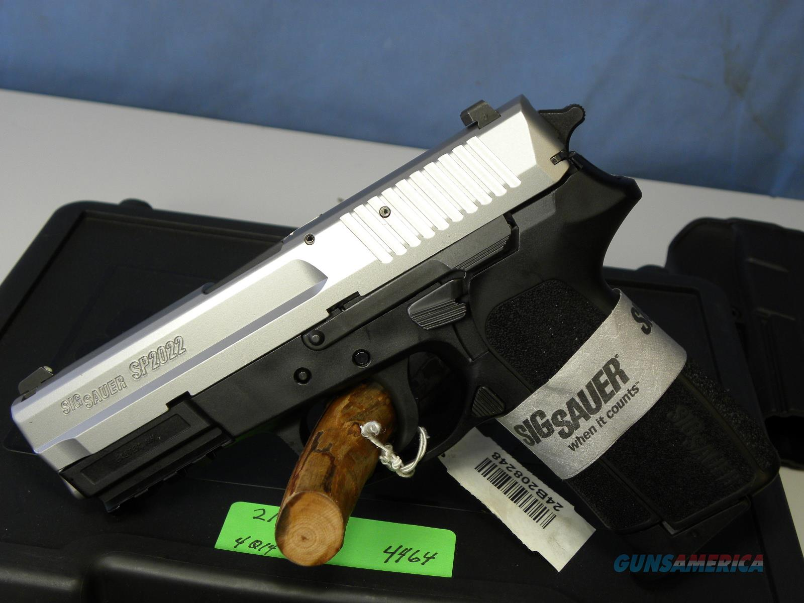 Sig Sauer E2022-9 Two Tone Stainless  Guns > Pistols > Sig - Sauer/Sigarms Pistols > 2022