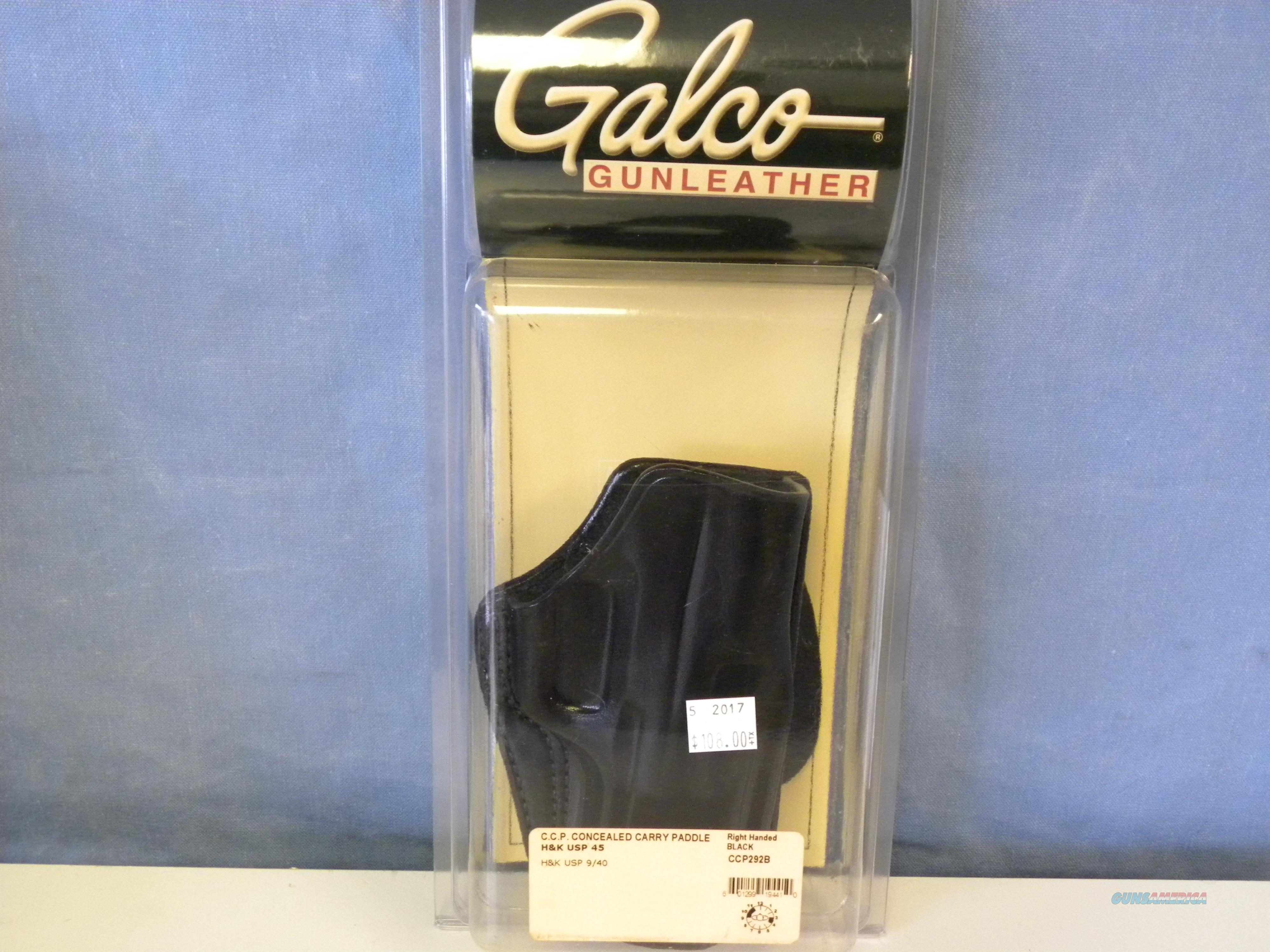 Galco Concealed Carry Paddle Hoslter (CCP292B)  Non-Guns > Holsters and Gunleather > Concealed Carry