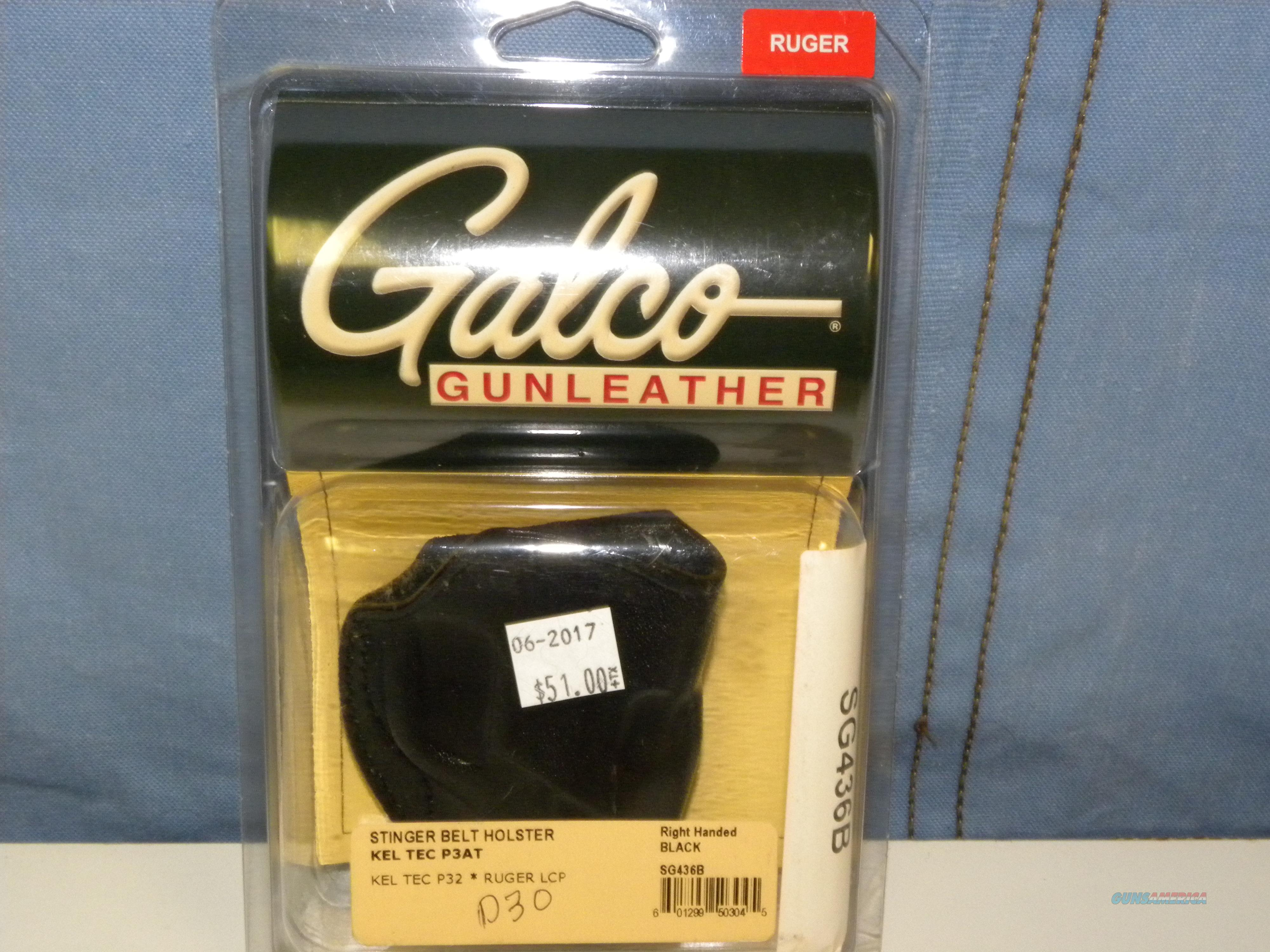 Galco Stinger Belt Holster Right Hand (SG436B)  Non-Guns > Holsters and Gunleather > Large Frame Auto
