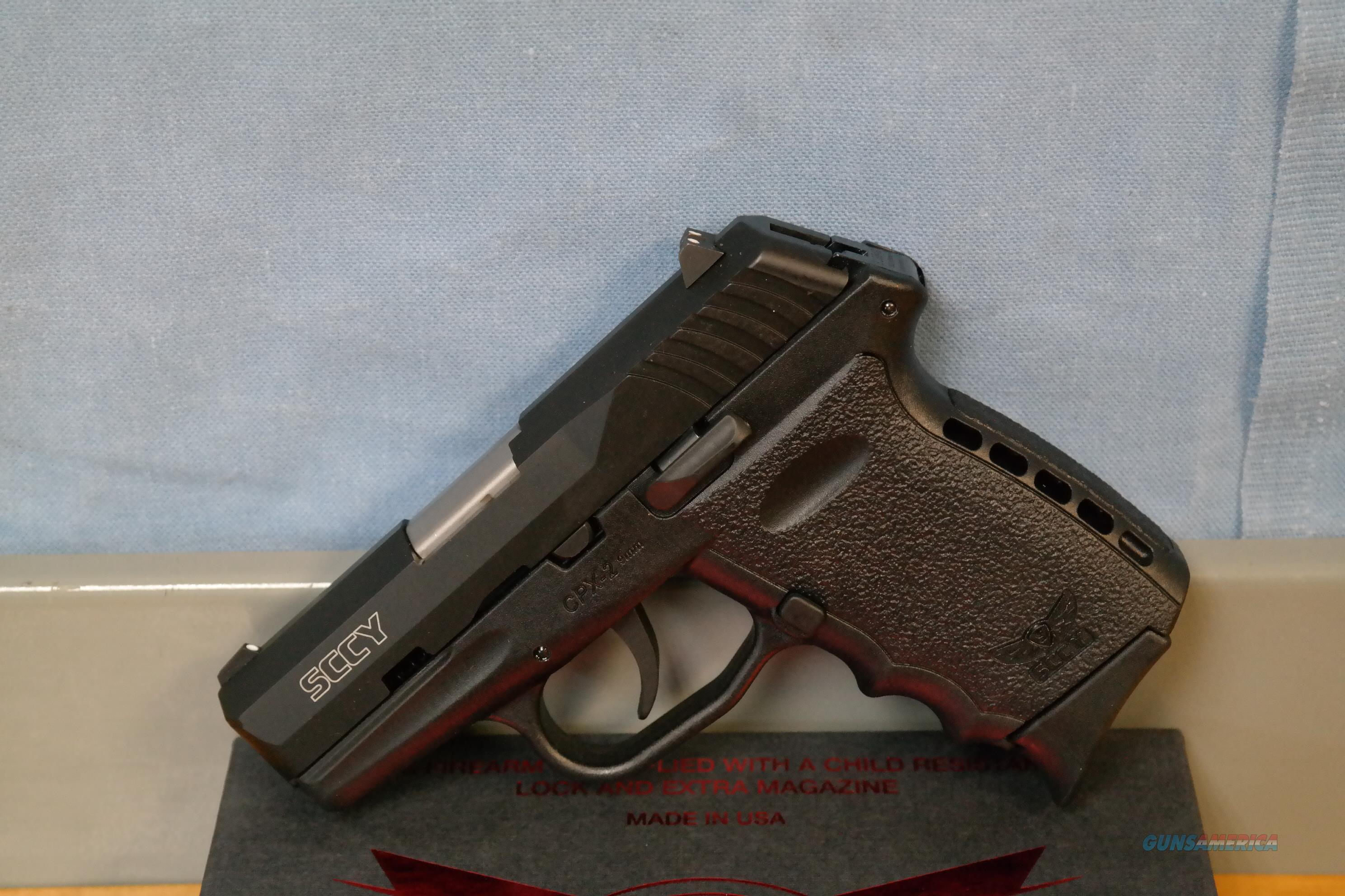 SCCY CPX-2 Carbon Black 9mm  Guns > Pistols > SCCY Pistols > CPX2
