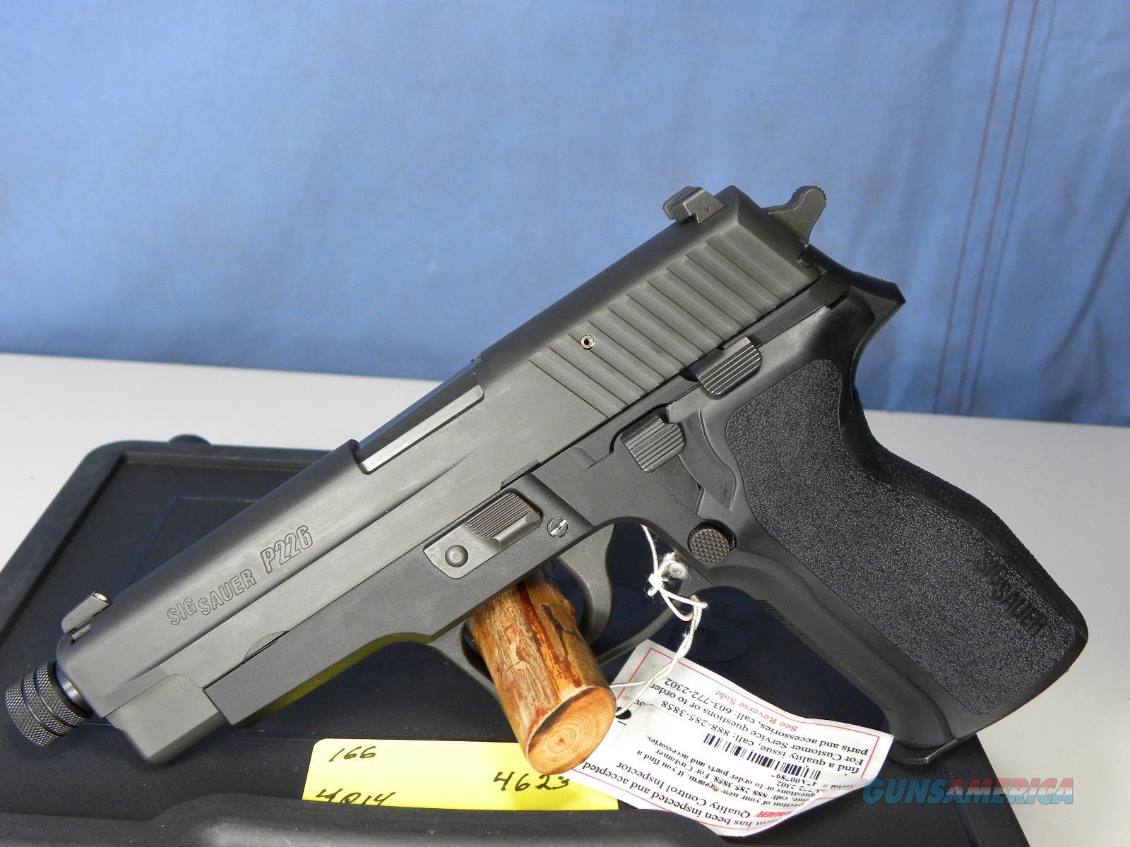 Sig Sauer 226-9-BSS Threaded Barrel  Guns > Pistols > Sig - Sauer/Sigarms Pistols > P226
