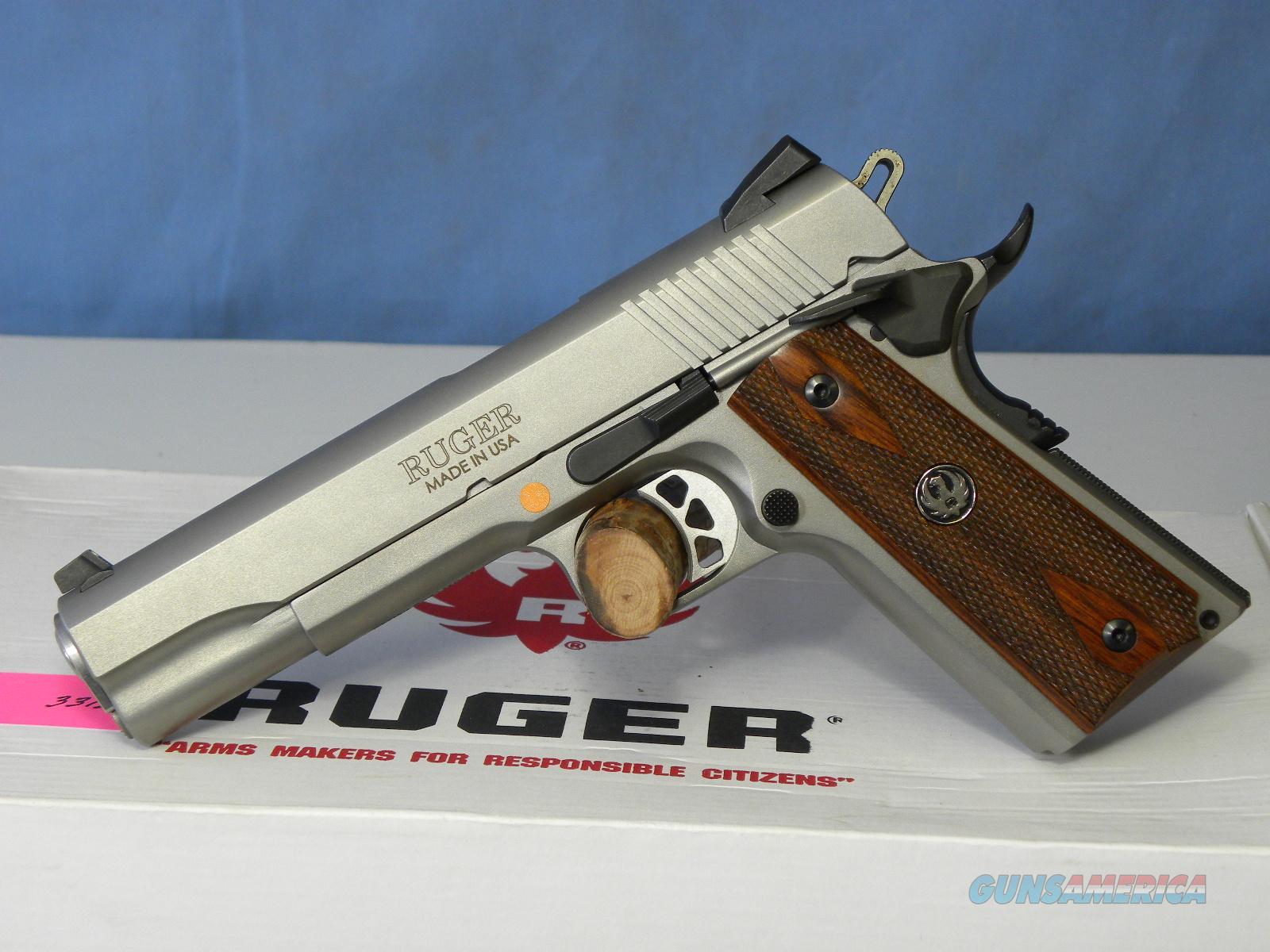 Ruger SR1911 SS 6700  Guns > Pistols > Ruger Semi-Auto Pistols > 1911